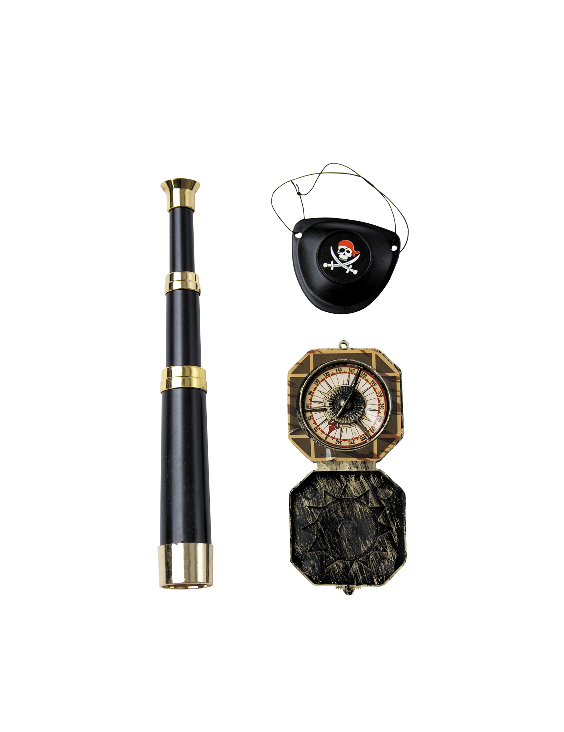 94a352a3a69 Kit accessoires capitaine pirate adulte   Deguise-toi