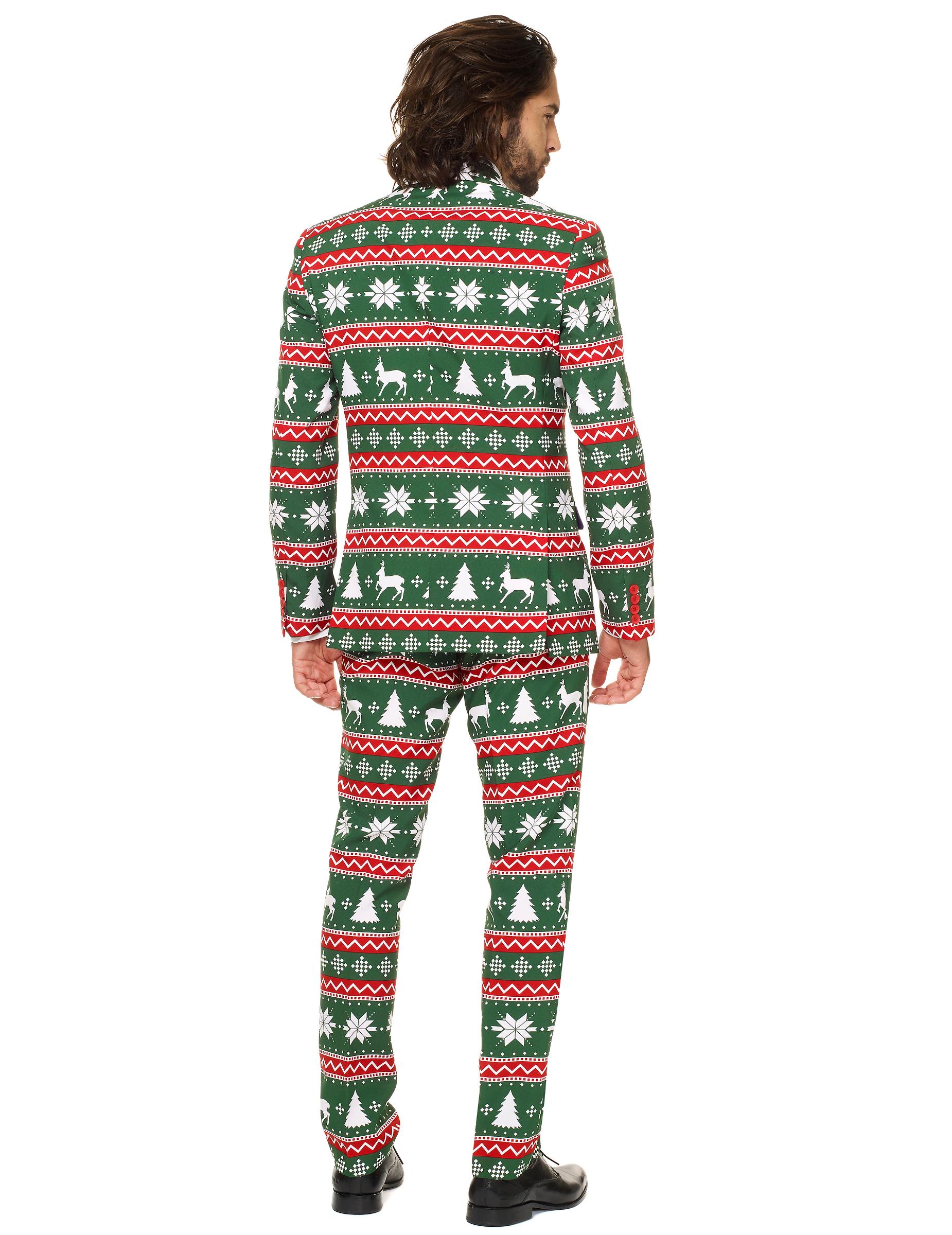 costume mr festive vert homme opposuits deguise toi. Black Bedroom Furniture Sets. Home Design Ideas