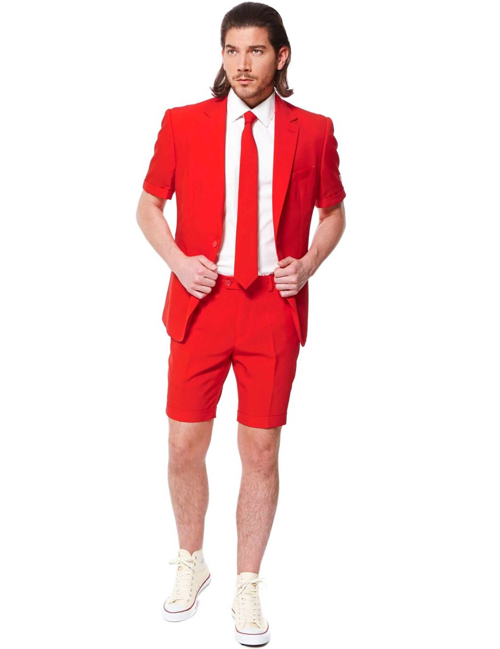 costume d 39 t mr rouge homme opposuits deguise toi achat de d guisements adultes. Black Bedroom Furniture Sets. Home Design Ideas