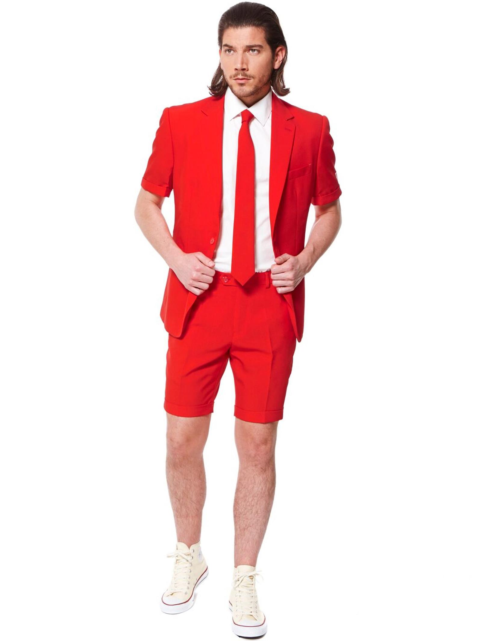 costume d 39 t mr rouge homme opposuits deguise toi. Black Bedroom Furniture Sets. Home Design Ideas