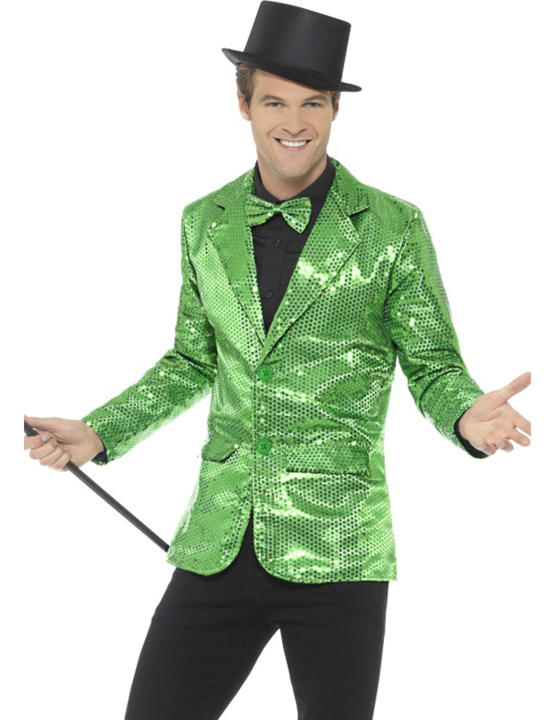 Deguise Verte Disco Veste À Toi Homme Sequins Luxe Achat De YvdqdwA