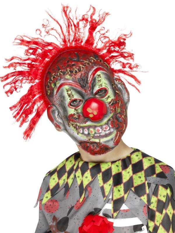 masque squelette clown fou enfant halloween deguise toi achat de masques. Black Bedroom Furniture Sets. Home Design Ideas