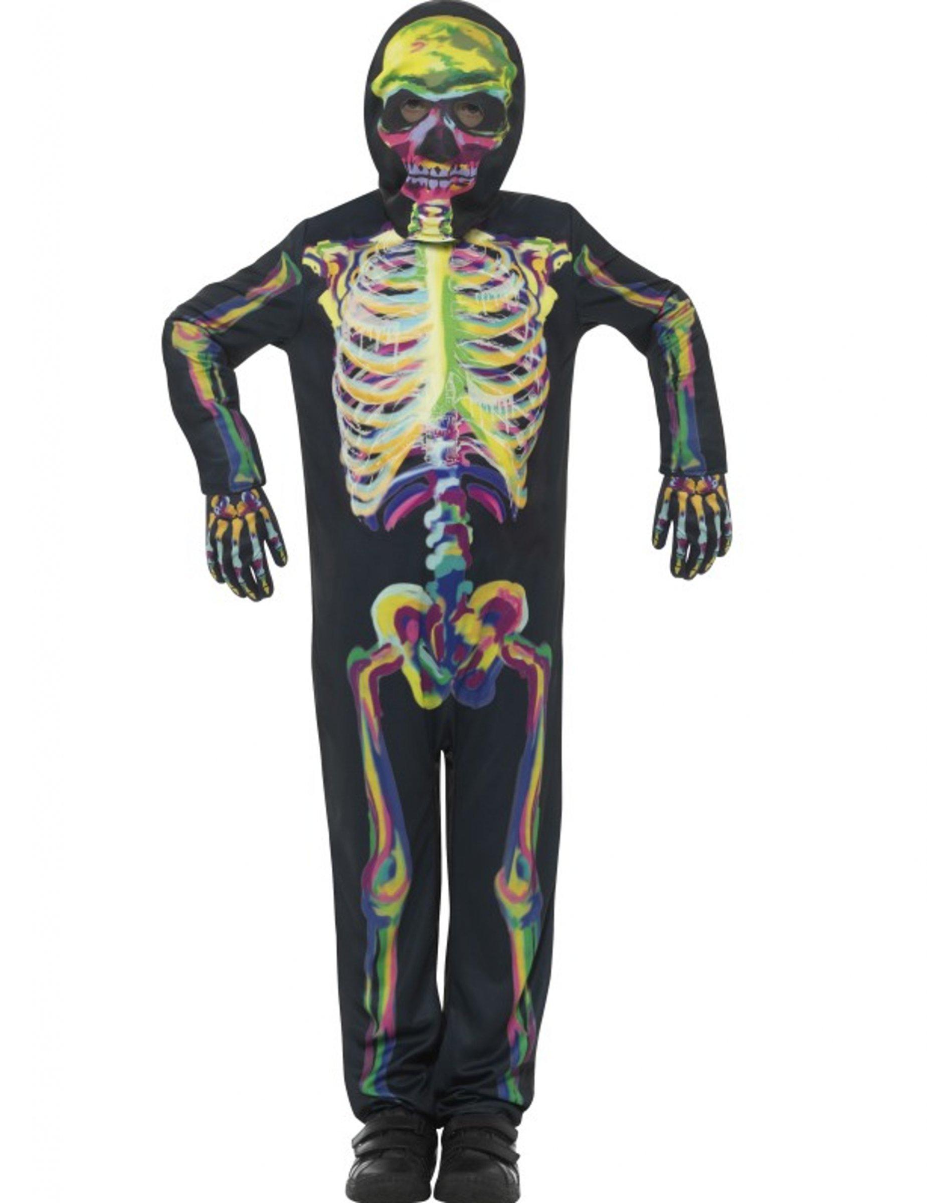 d guisement squelette color phosphorescent enfant halloween deguise toi achat de. Black Bedroom Furniture Sets. Home Design Ideas