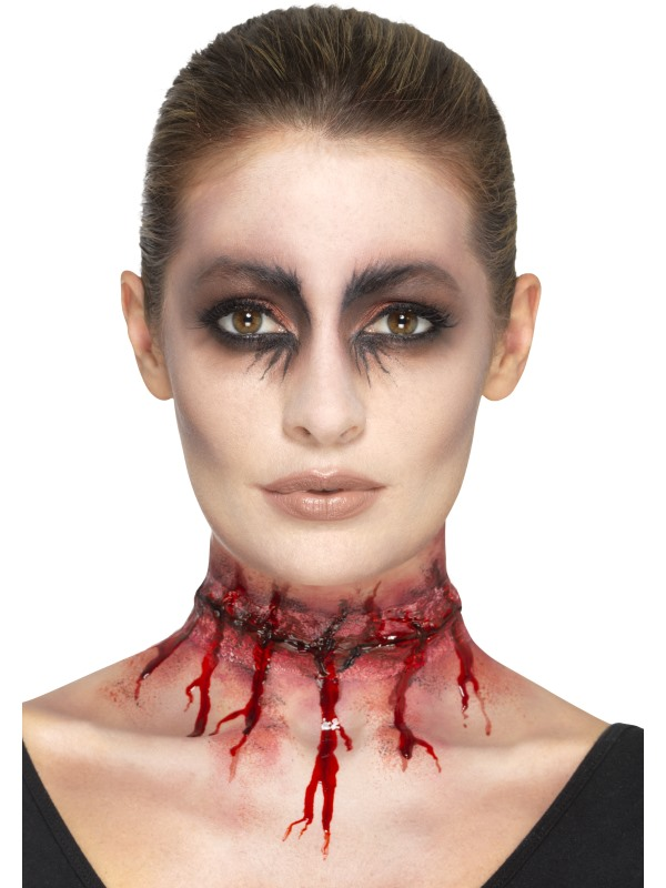 Proth se latex cicatrices adulte halloween deguise toi achat de maquillage - Maquillage halloween latex ...