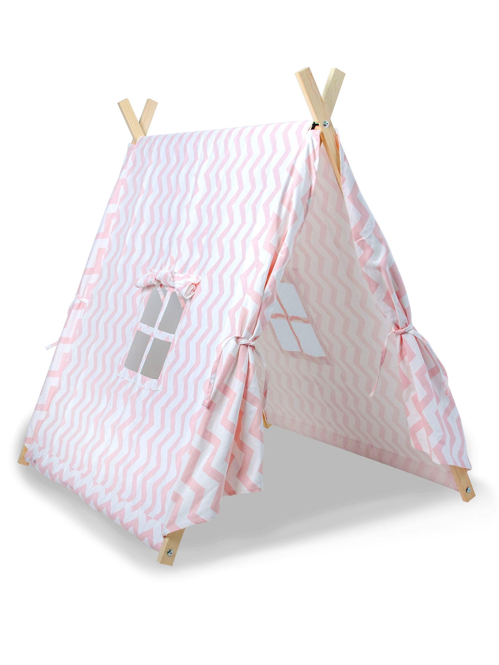 tente canadienne enfant rose deguise toi achat de decoration animation. Black Bedroom Furniture Sets. Home Design Ideas