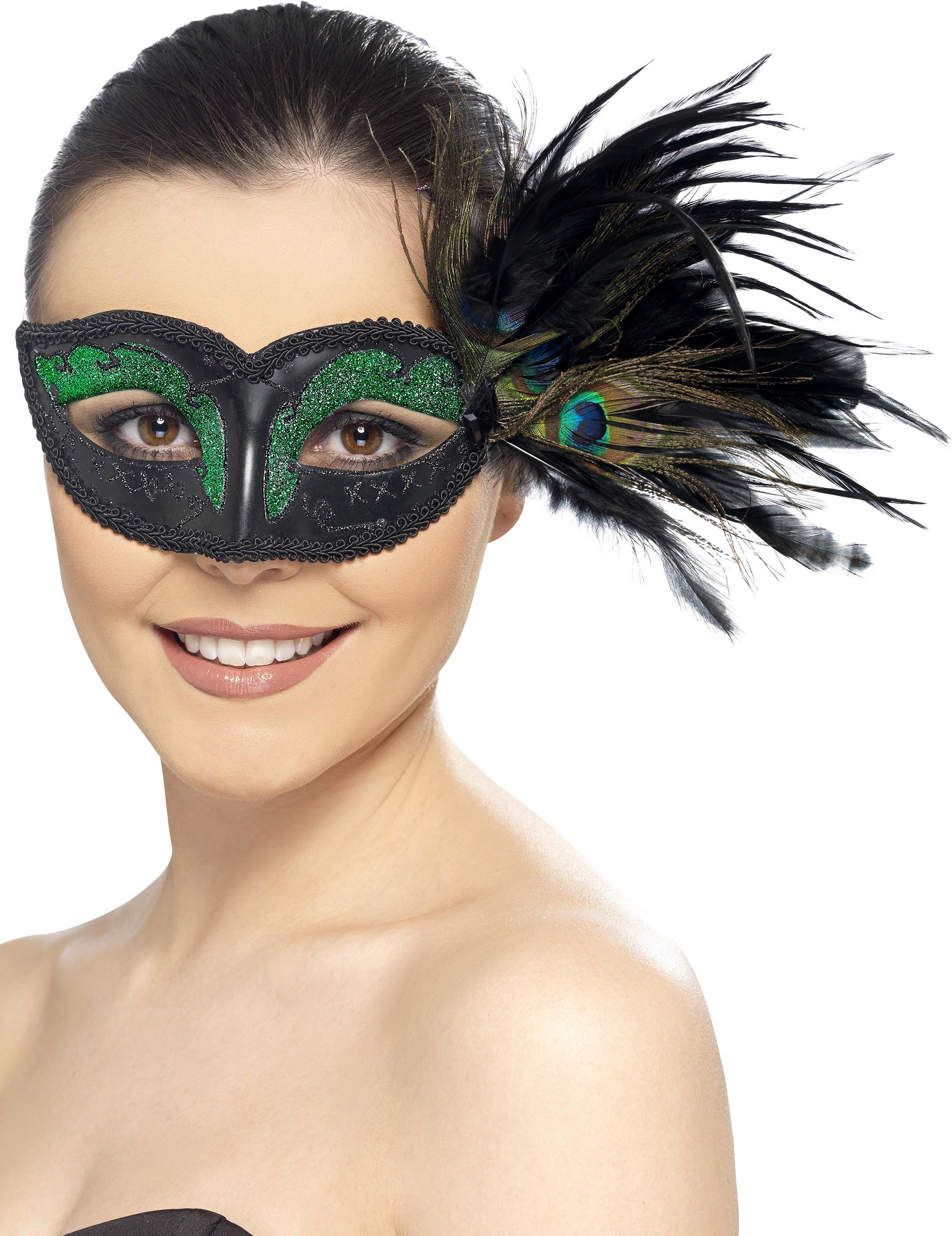 Résultats de recherche d'images pour «masque plume paon»