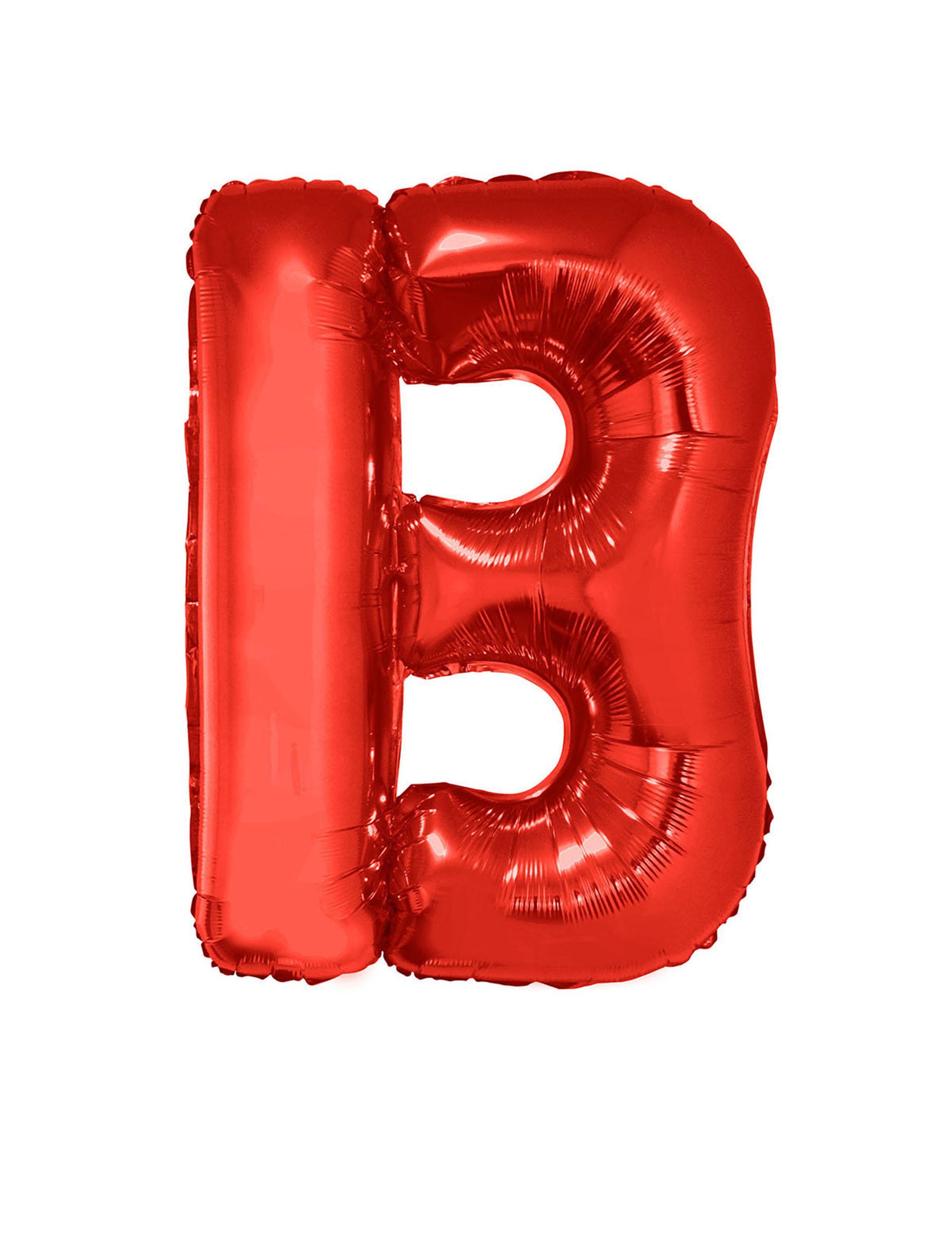 Ballon aluminium géant lettre B rouge 102 cm : Deguise-toi, achat de ...
