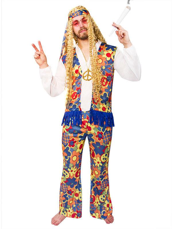 d guisement hippie fleurs adulte deguise toi achat de d guisements adultes. Black Bedroom Furniture Sets. Home Design Ideas