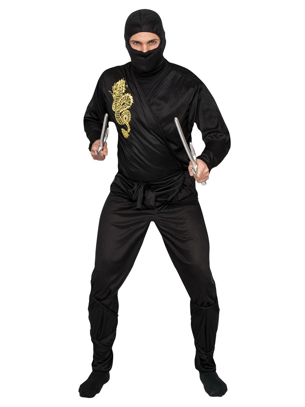 559f210831e64 Déguisement ninja noir et doré adulte   Deguise-toi