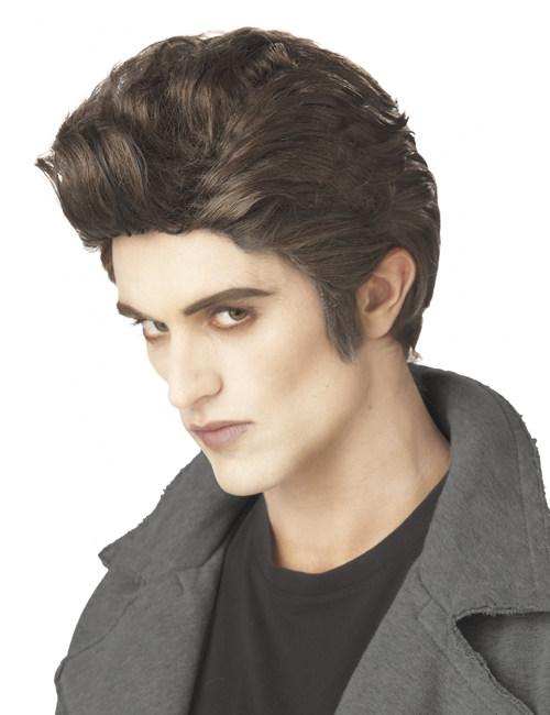 Perruque vampire gentleman homme : Deguise-