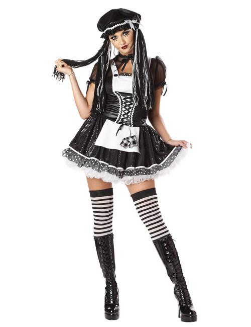 Déguisement poupée de chiffon gothique femme   Deguise-toi, achat de ... a44a2f6cfbd0