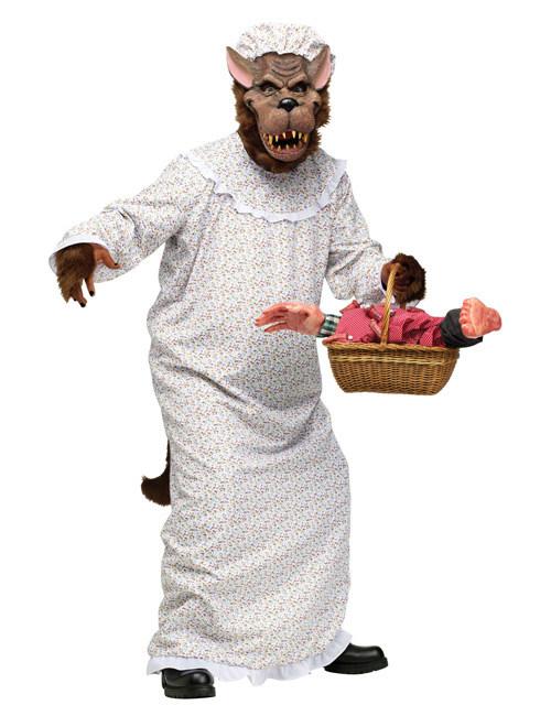Noël Nouvel An, l'œuf est courtois DéguiseHommes t t t Grand Méchant Loup conte de fées Halloween Cod.279660 37b7fd