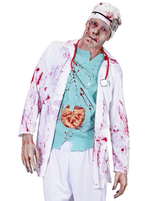 maquillage halloween medecin