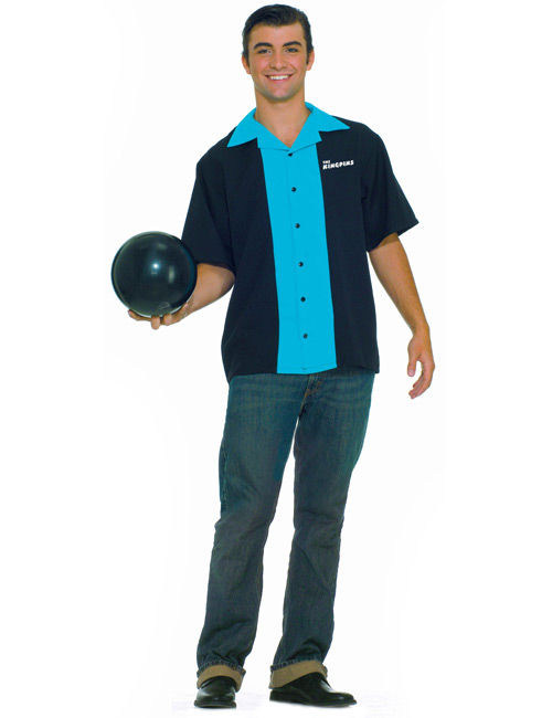 Homme Des Années 50 t-shirt bowling années 50 homme : deguise-toi, achat de déguisements