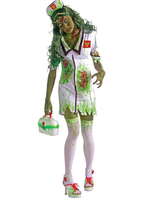 d guisement zombie infirmi re halloween deguise toi achat de d guisements adultes. Black Bedroom Furniture Sets. Home Design Ideas