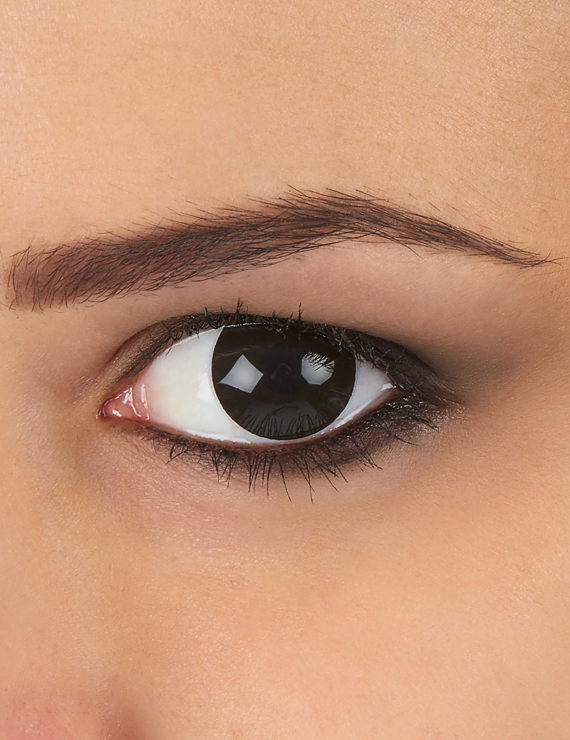 full black contact lenses - HD 1849×2400