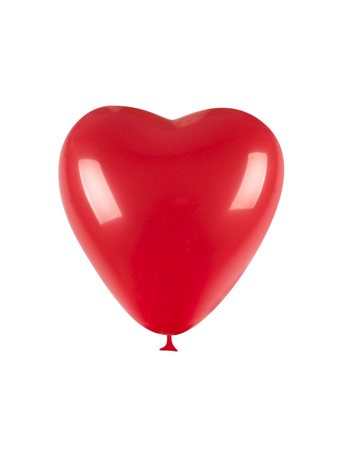 100 ballons coeur rouge deguise toi achat de decoration - Decoration coeur rouge ...
