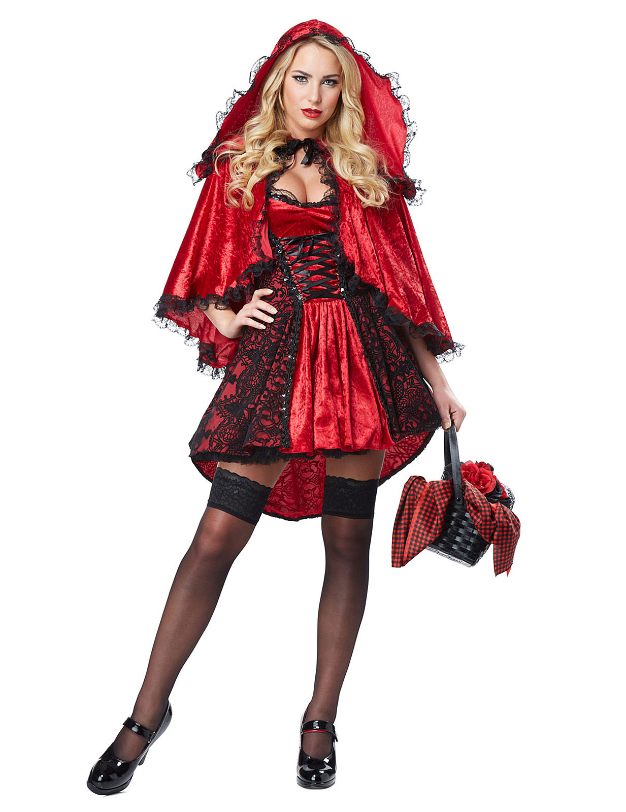 Déguisement chaperon rouge sexy femme   Deguise-toi ab41e375edd
