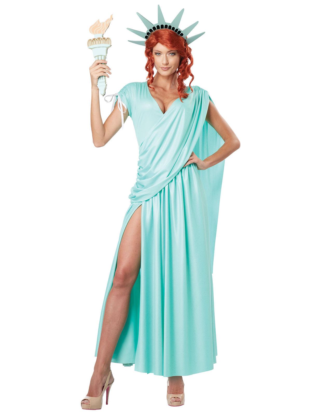 DéguiseHommes t statue de la la la liberté femme sexy américain vert Hommes the Cod.303917 432109