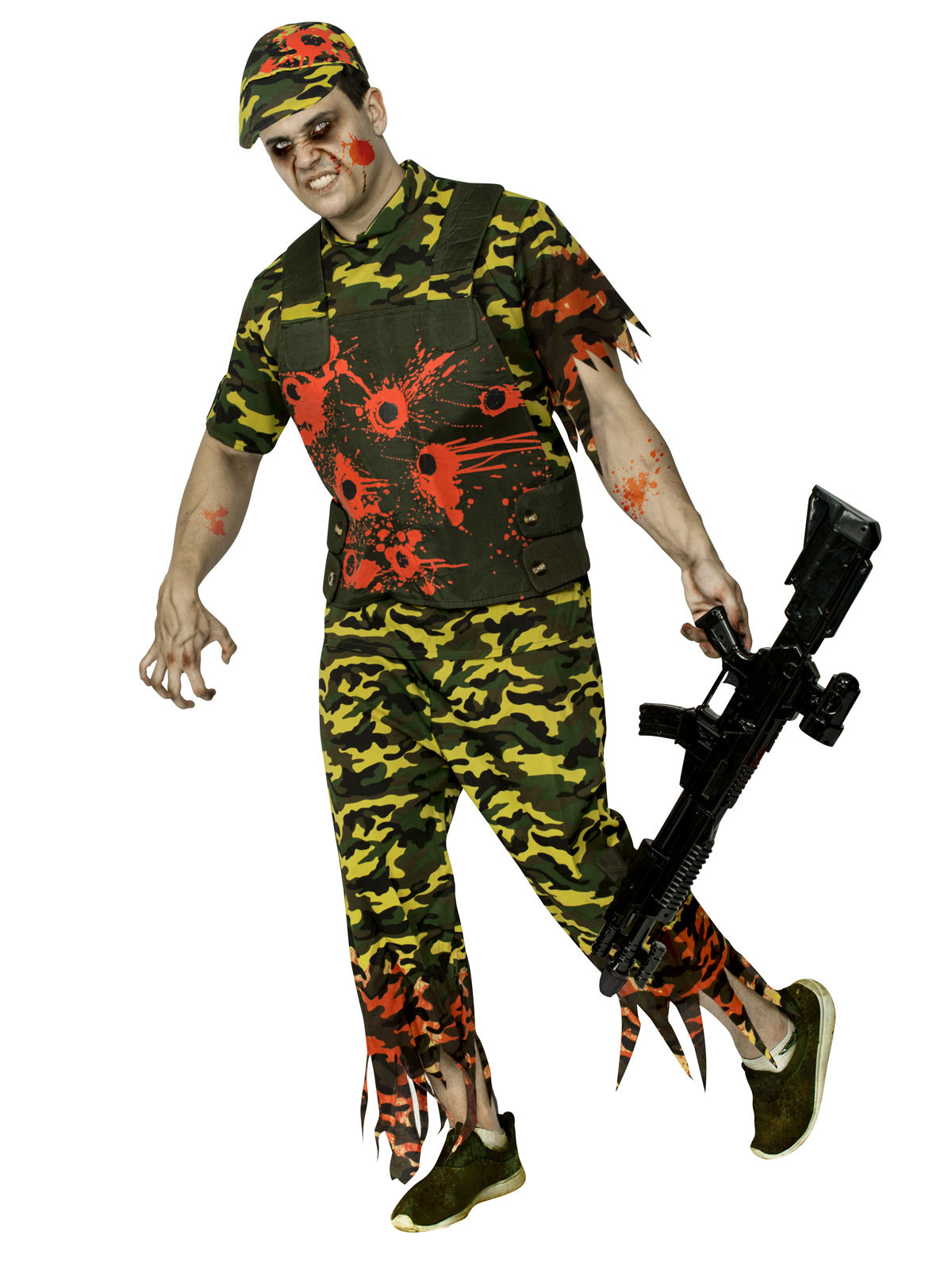 d guisement soldat zombie halloween camouflage homme deguise toi achat de d guisements adultes. Black Bedroom Furniture Sets. Home Design Ideas