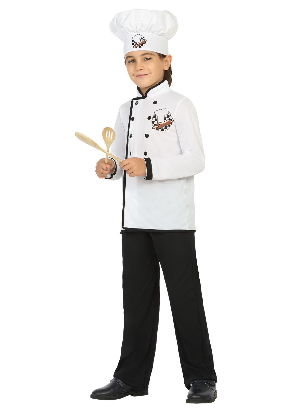 D guisement chef cuisinier blanc enfant deguise toi for Cuisinier 49
