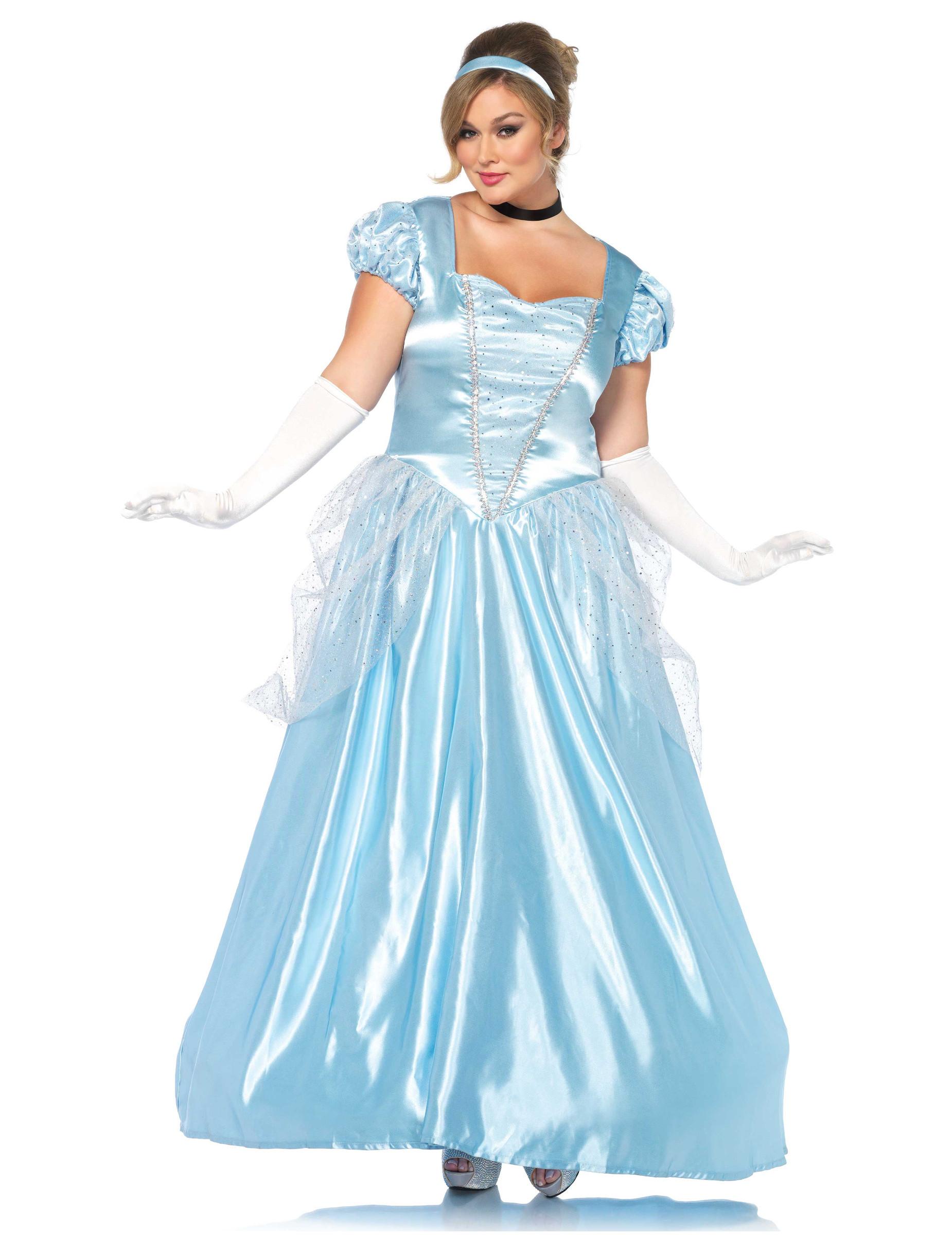 cb4ead61d737c Déguisement princesse robe bleue grande taille femme   Deguise-toi ...