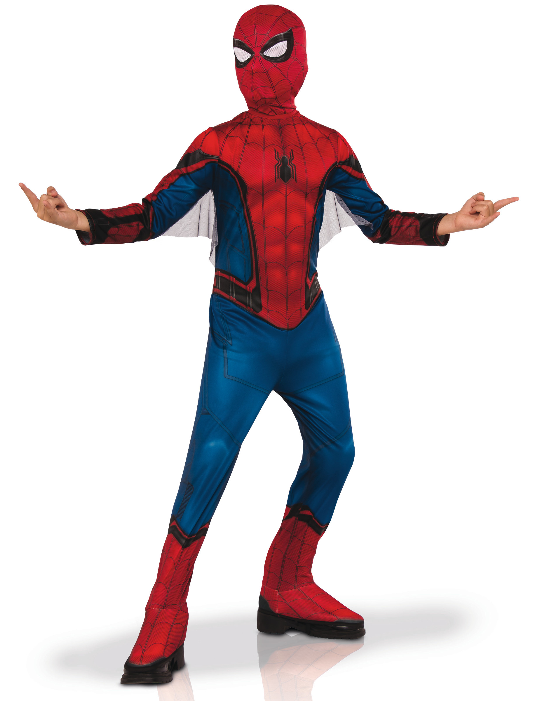Rouge Enfant gar/çon SPIDERMAN Cagoule