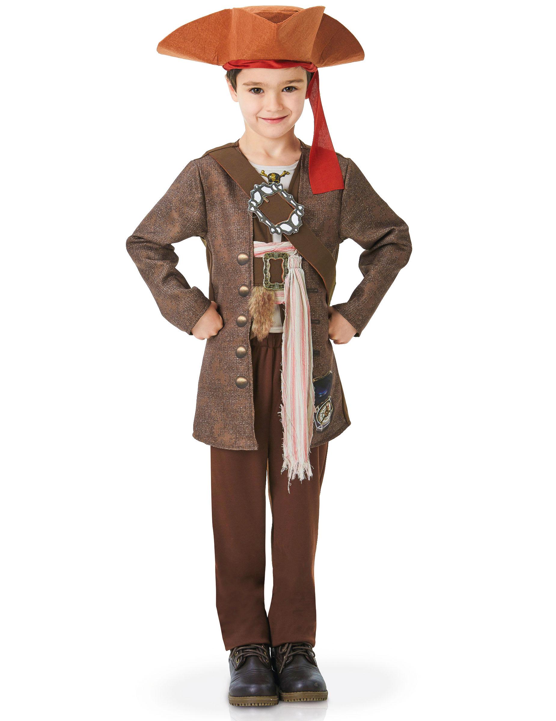 Deguisement Luxe Jack Sparrow Pirates Des Caraibes Enfant