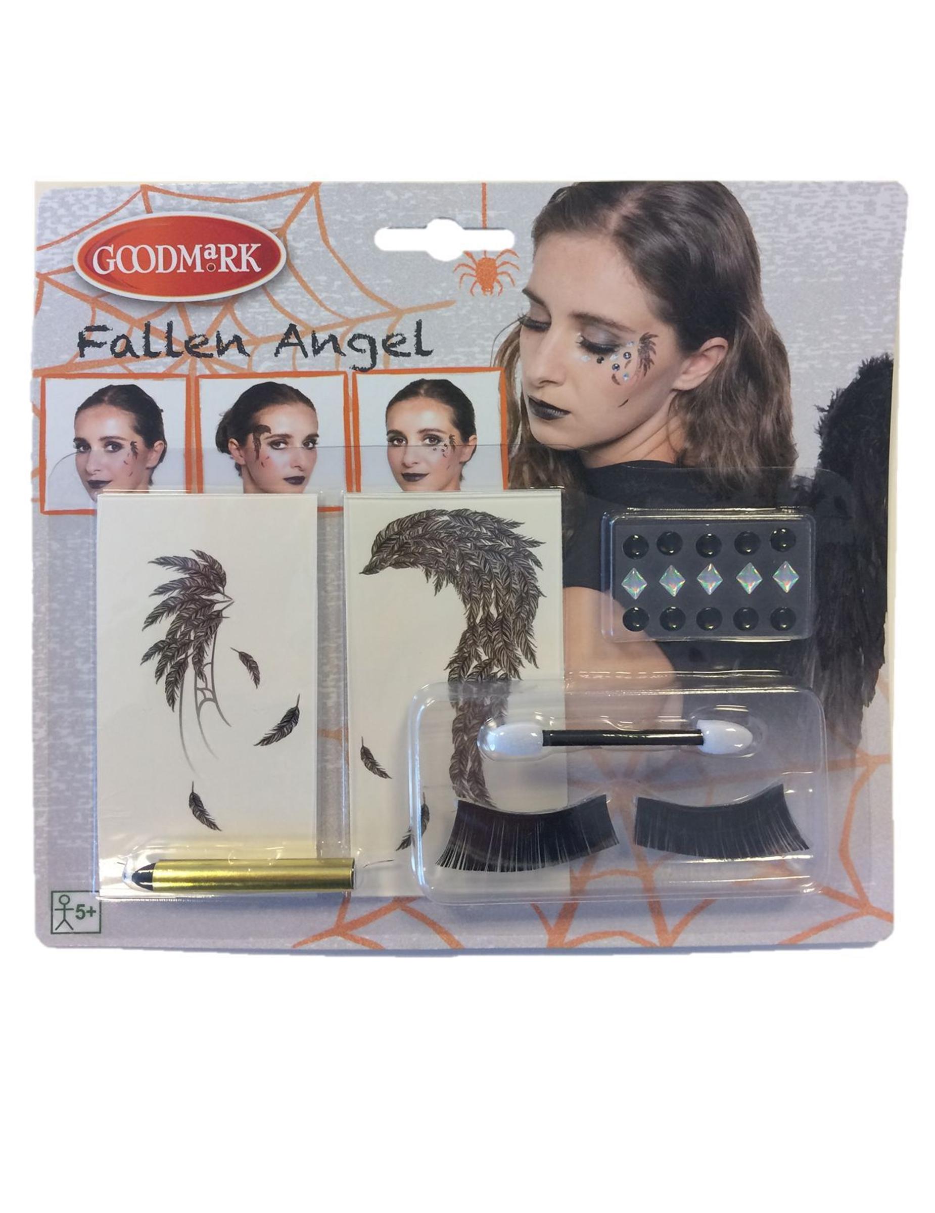 kit maquillage ange noir femme deguise toi achat de. Black Bedroom Furniture Sets. Home Design Ideas