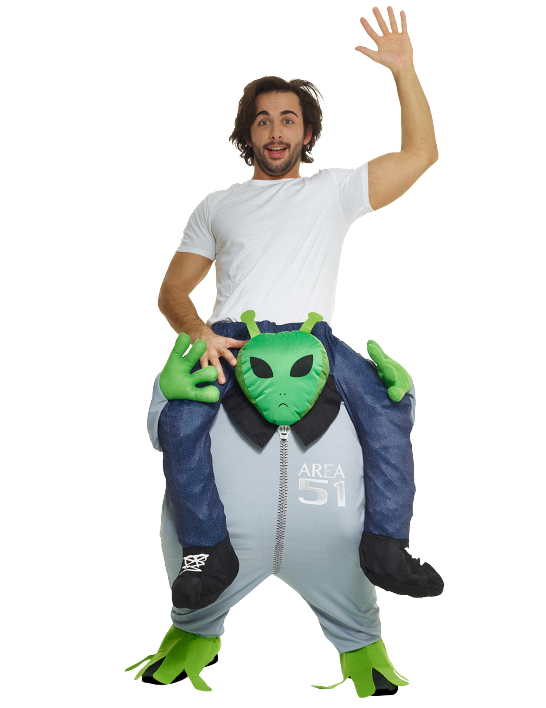 d guisement homme dos d 39 alien adulte morphsuits deguise toi achat de d guisements adultes. Black Bedroom Furniture Sets. Home Design Ideas