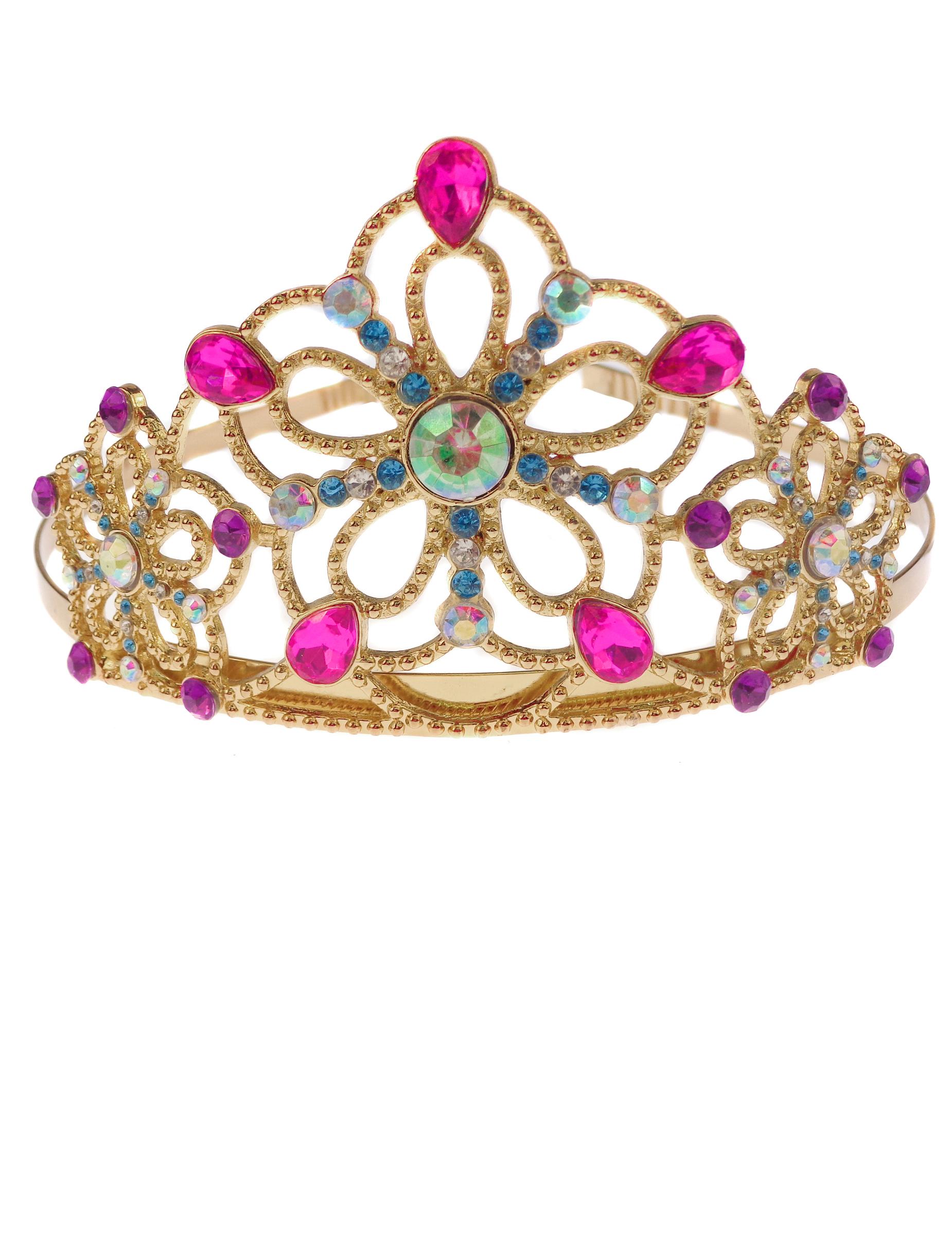 Couronne princesse dor e multicolore fille deguise toi - Couronne princesse disney ...