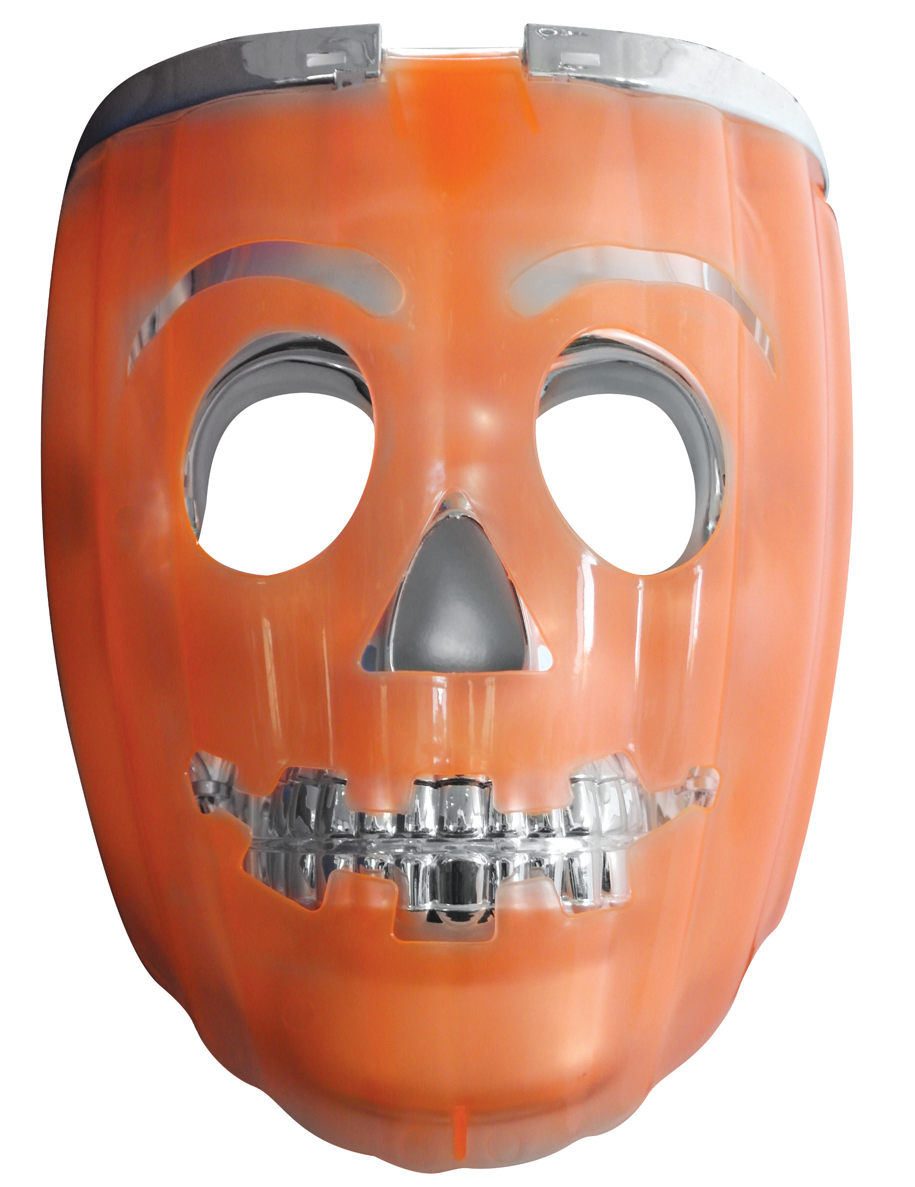 Masque 2 en 1 citrouille lumimeux lanterne adulte for Zucca halloween luminosa