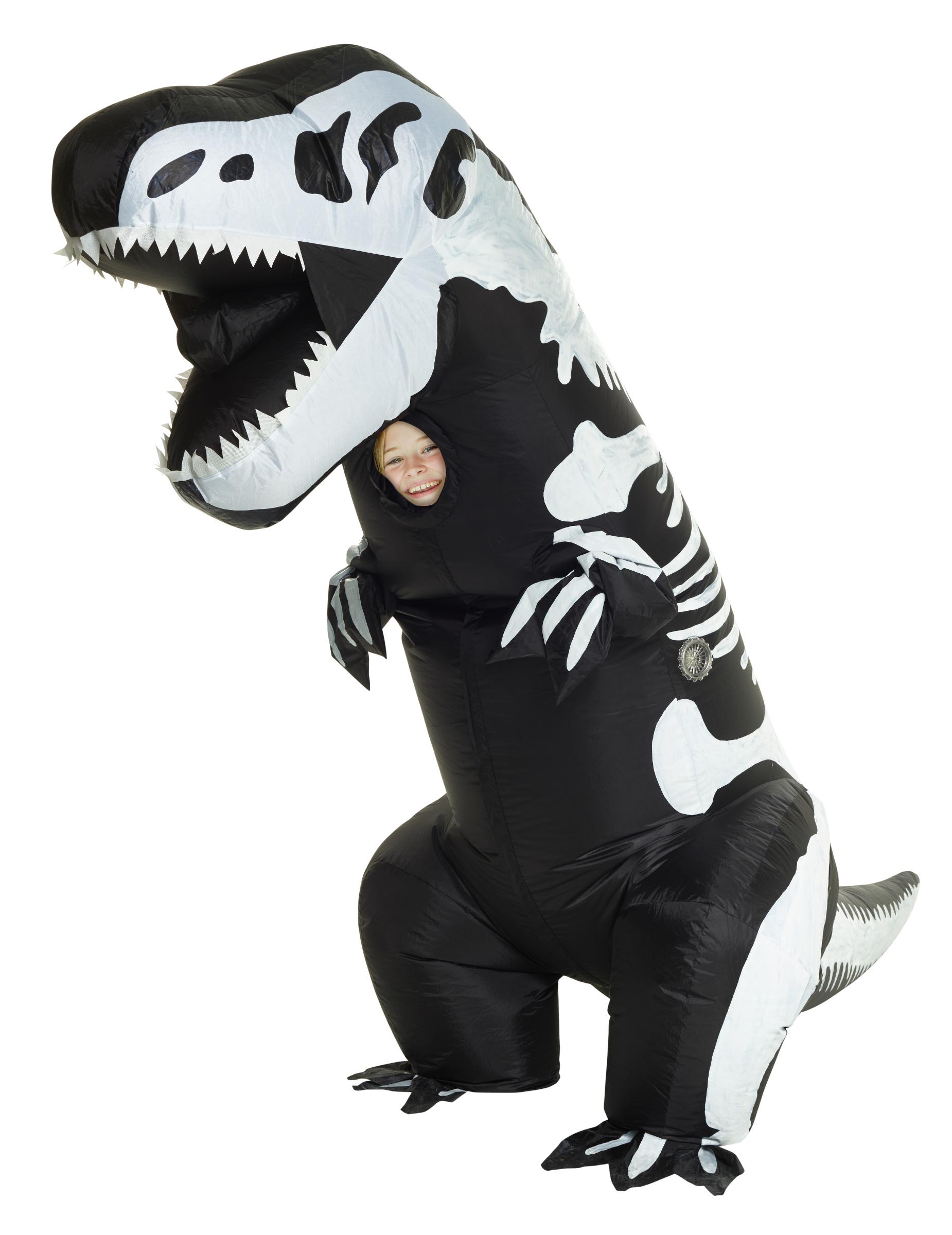 d guisement gonflable squelette t rex enfant morphsuits deguise toi achat de d guisements. Black Bedroom Furniture Sets. Home Design Ideas