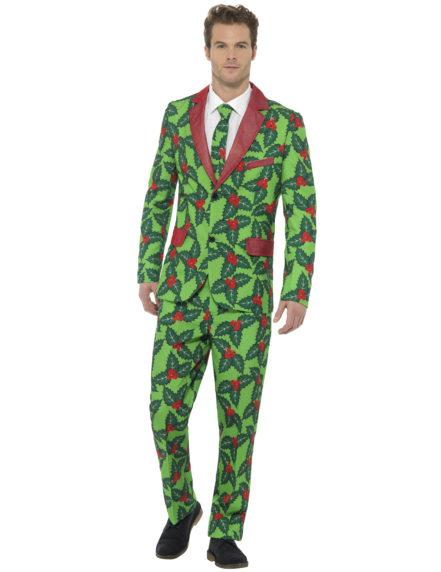 Costume de houx adulte Noël : Deguise-toi, achat de ...