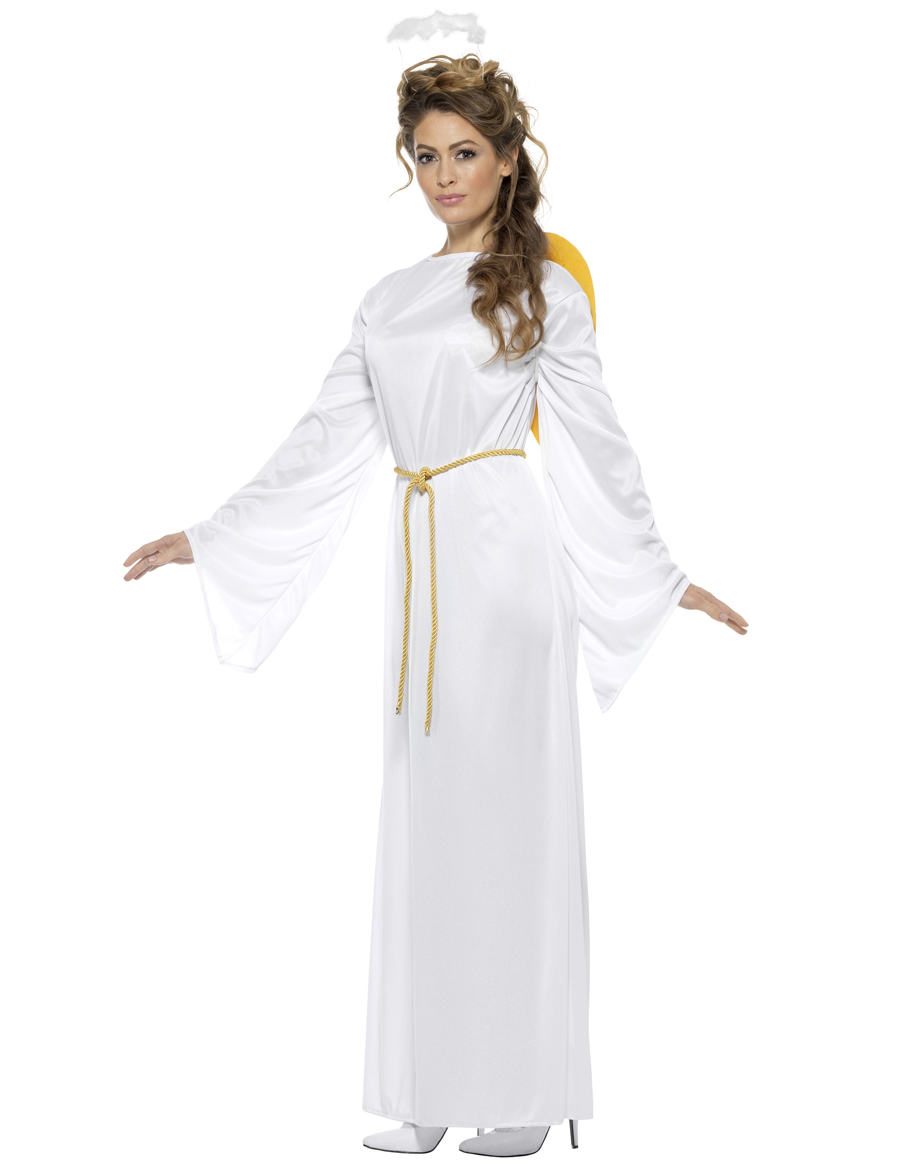 Déguisement ange blanc adulte Noël   Deguise-toi, achat de ... 442173c6fe4e