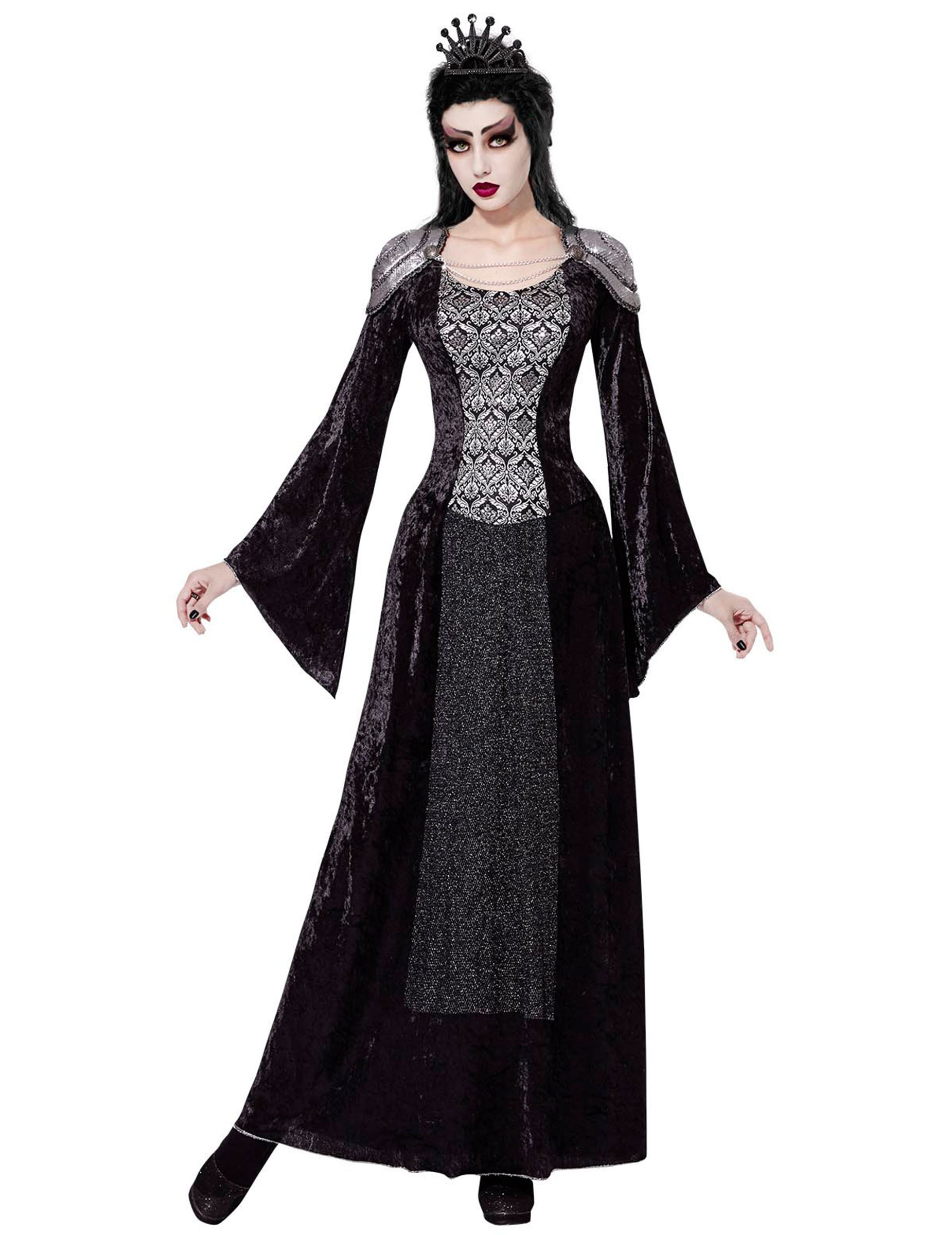 Déguisement reine sombre femme Halloween   Deguise-toi, achat de ... 663dc6d37197