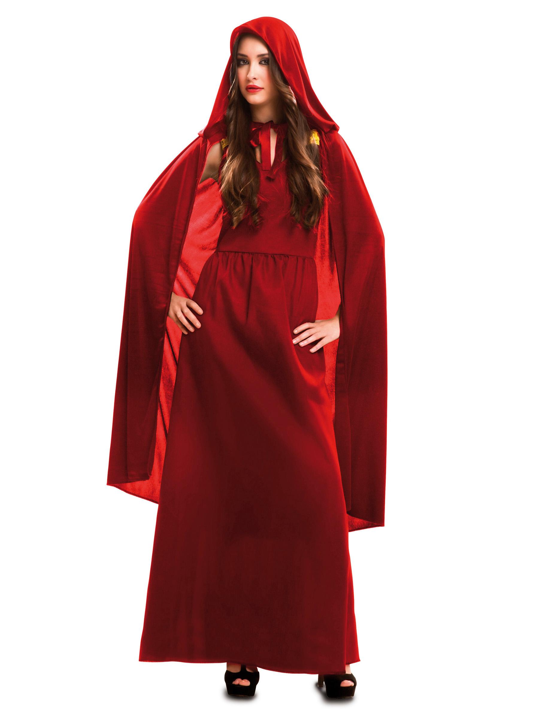 d guisement sorci re rouge femme deguise toi achat de. Black Bedroom Furniture Sets. Home Design Ideas
