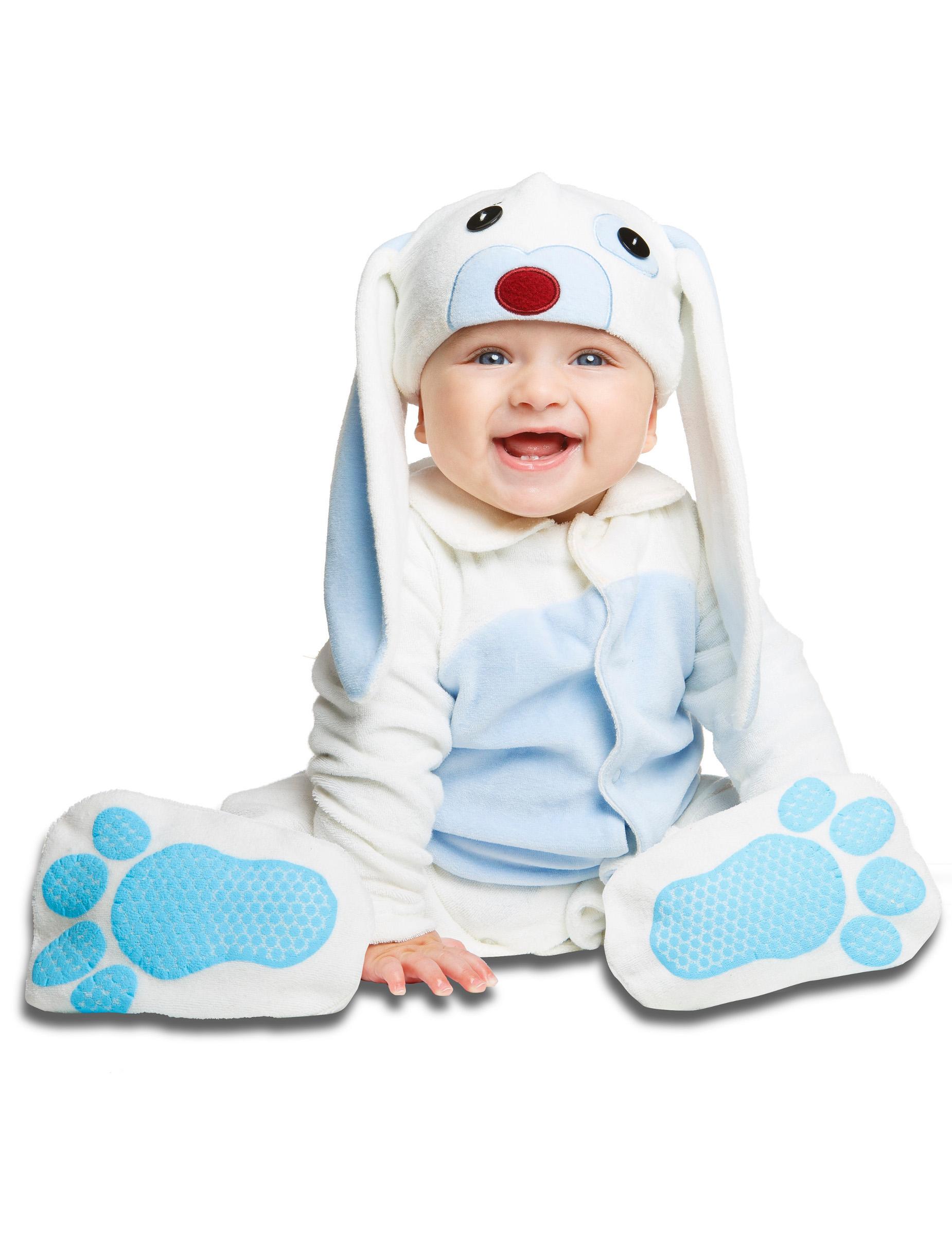 d guisement petit lapin bleu avec sucette luxe b b deguise toi achat de d guisements enfants. Black Bedroom Furniture Sets. Home Design Ideas