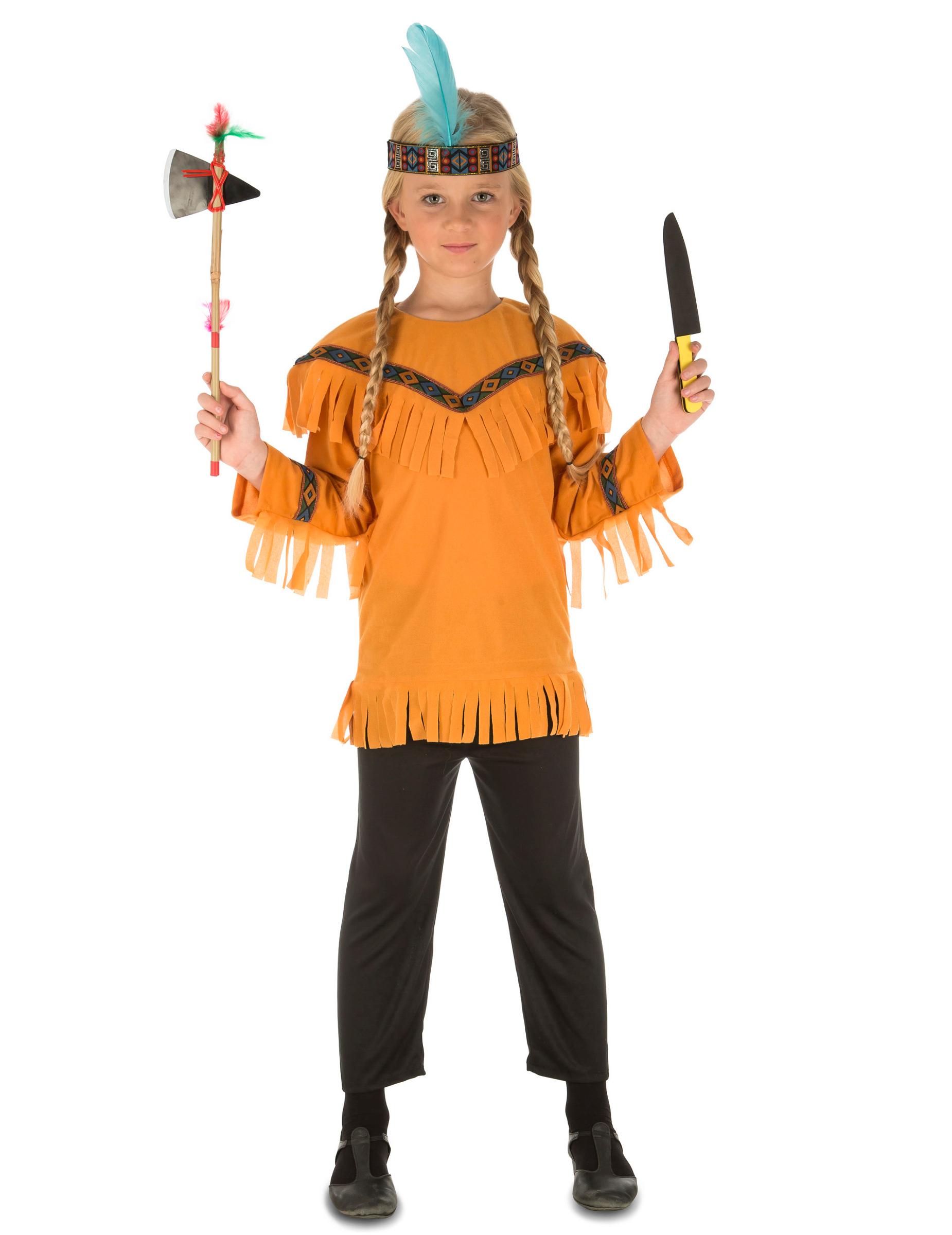 d guisement indien avec accessoires enfant deguise toi achat de d guisements enfants. Black Bedroom Furniture Sets. Home Design Ideas