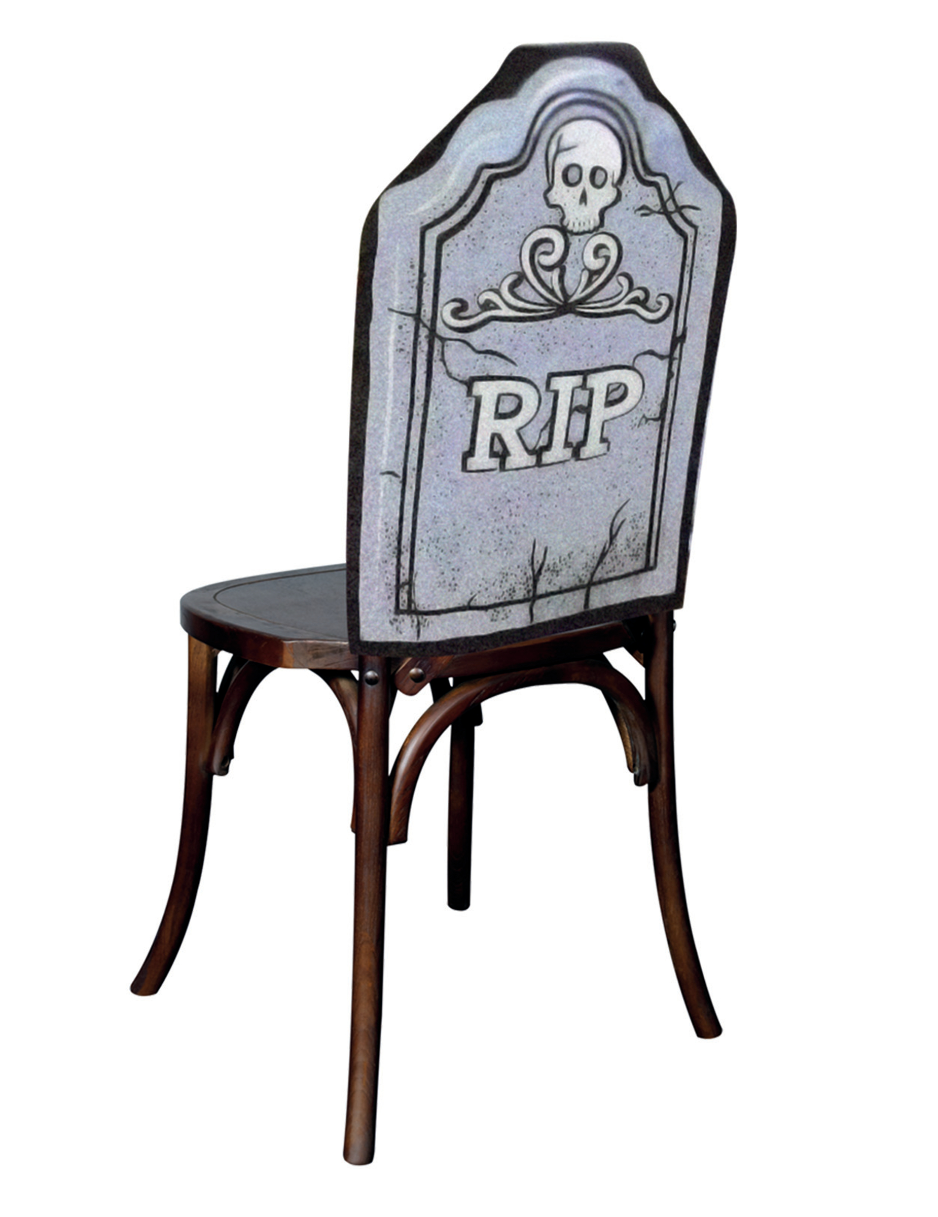 Housse de chaise rip 48 x 61 cm halloween deguise toi for Housse de chaise largeur 50 cm