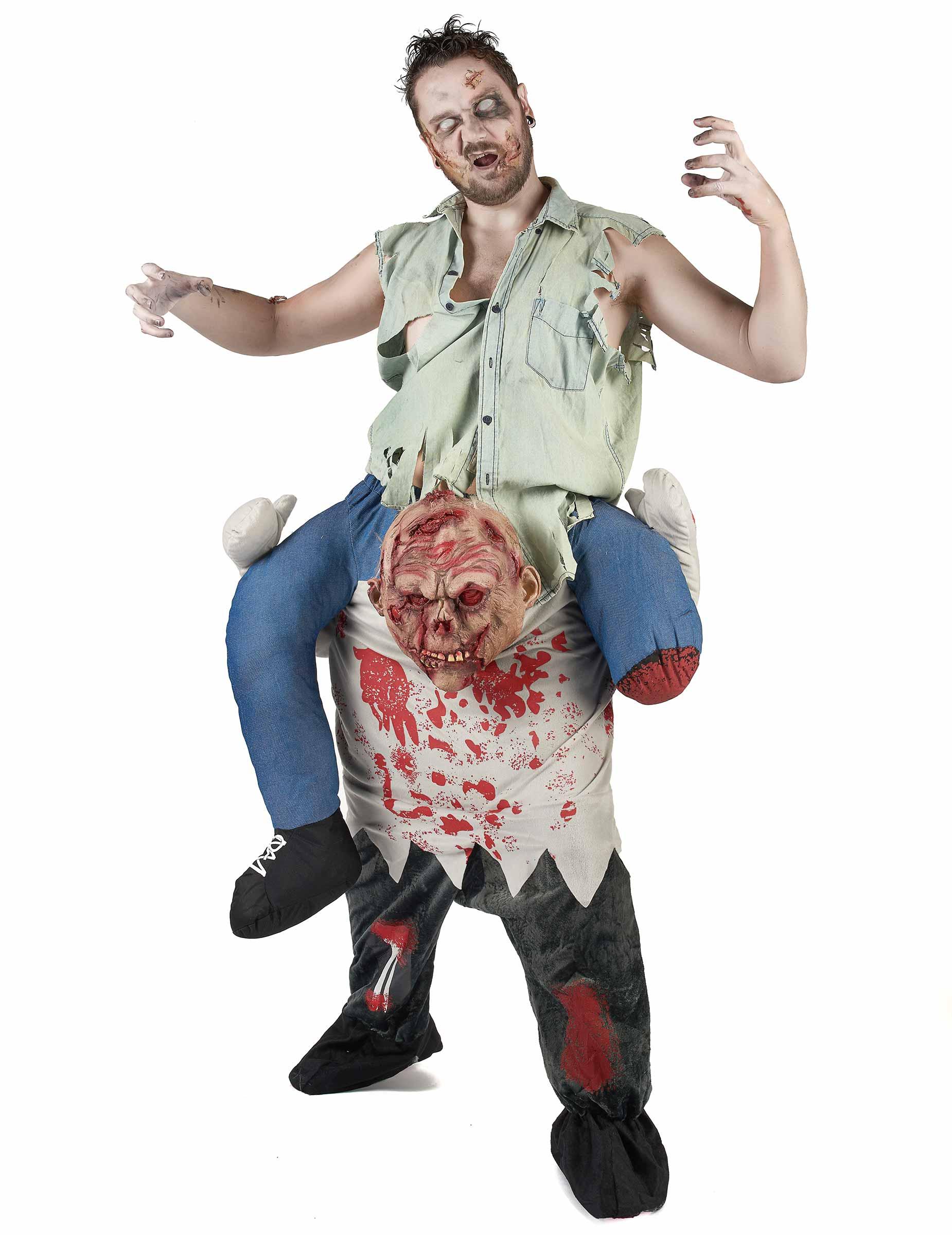 Déguisement porte,moi zombie adulte Halloween