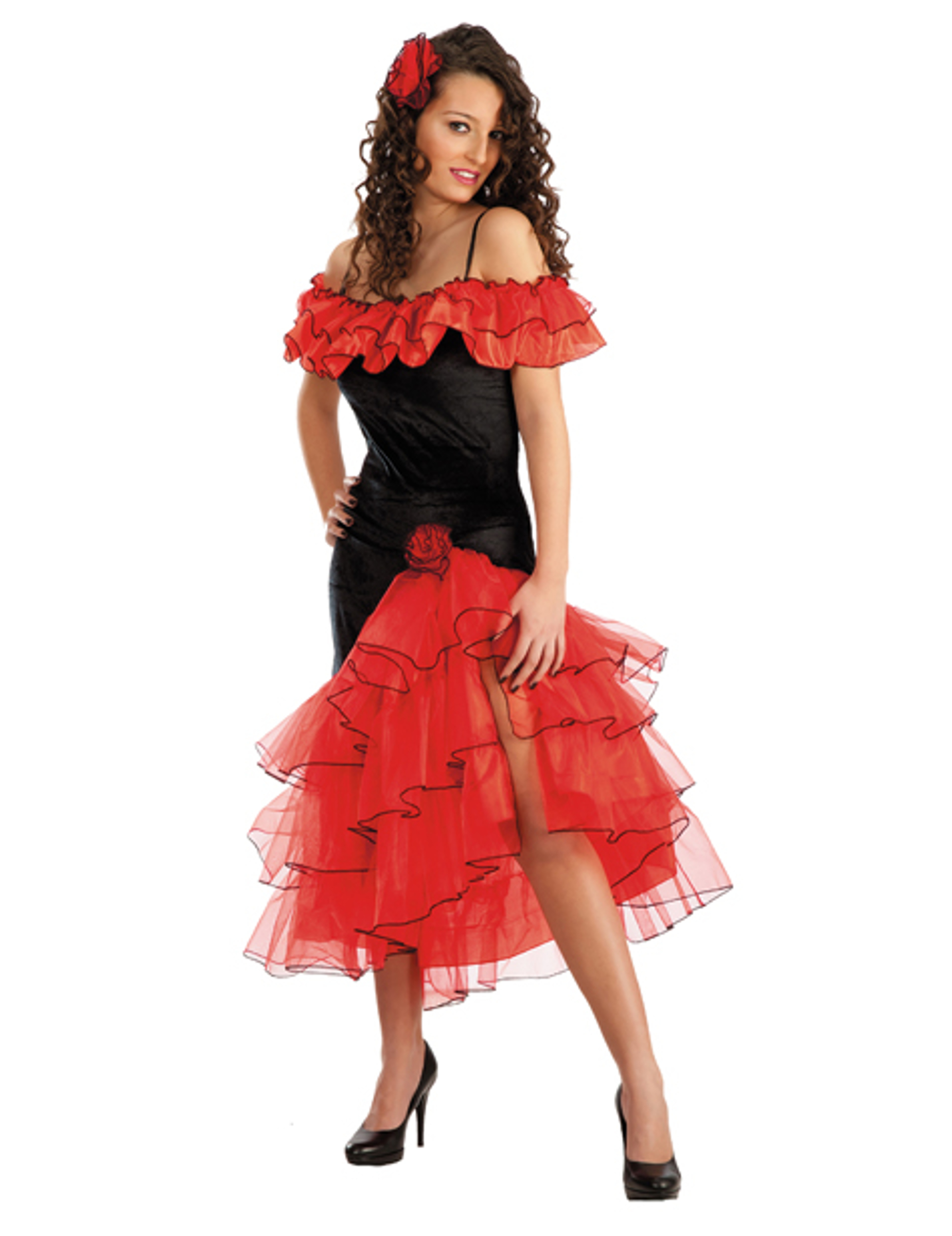 d guisement danseuse espagnole femme deguise toi achat. Black Bedroom Furniture Sets. Home Design Ideas