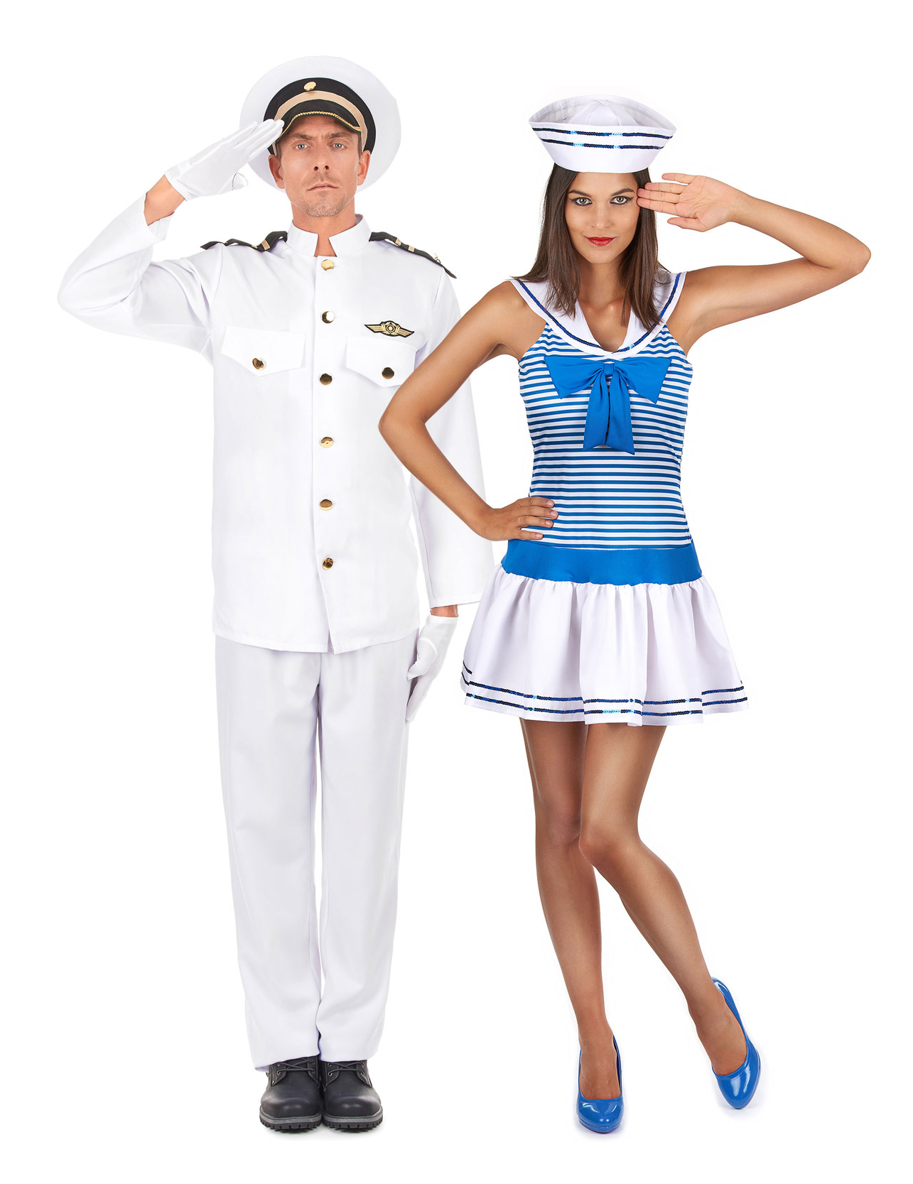 D guisement couple marin adulte deguise toi achat de d guisements couples - Deguisement halloween couple ...