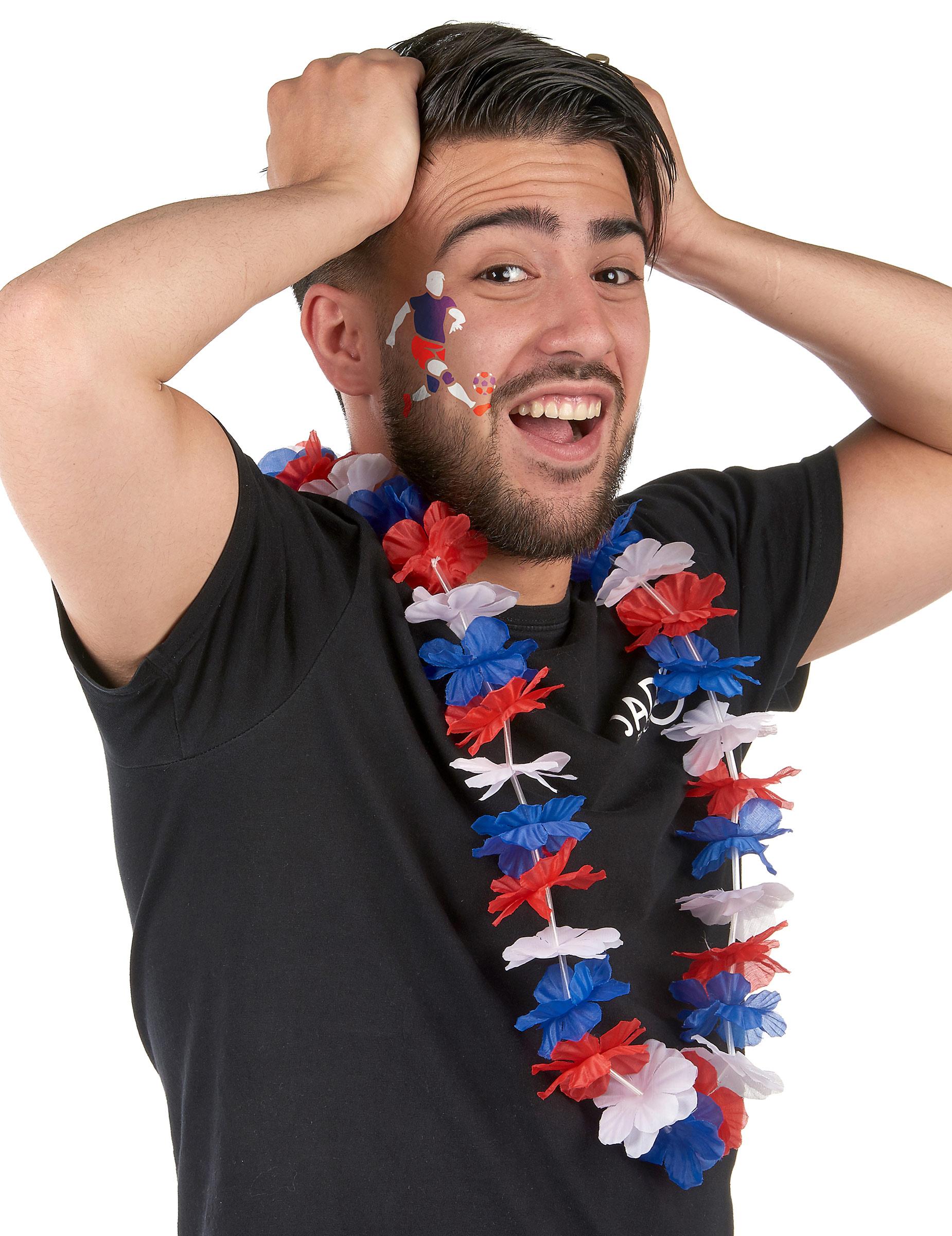 Kit maquillage et pochoir supporter France,1