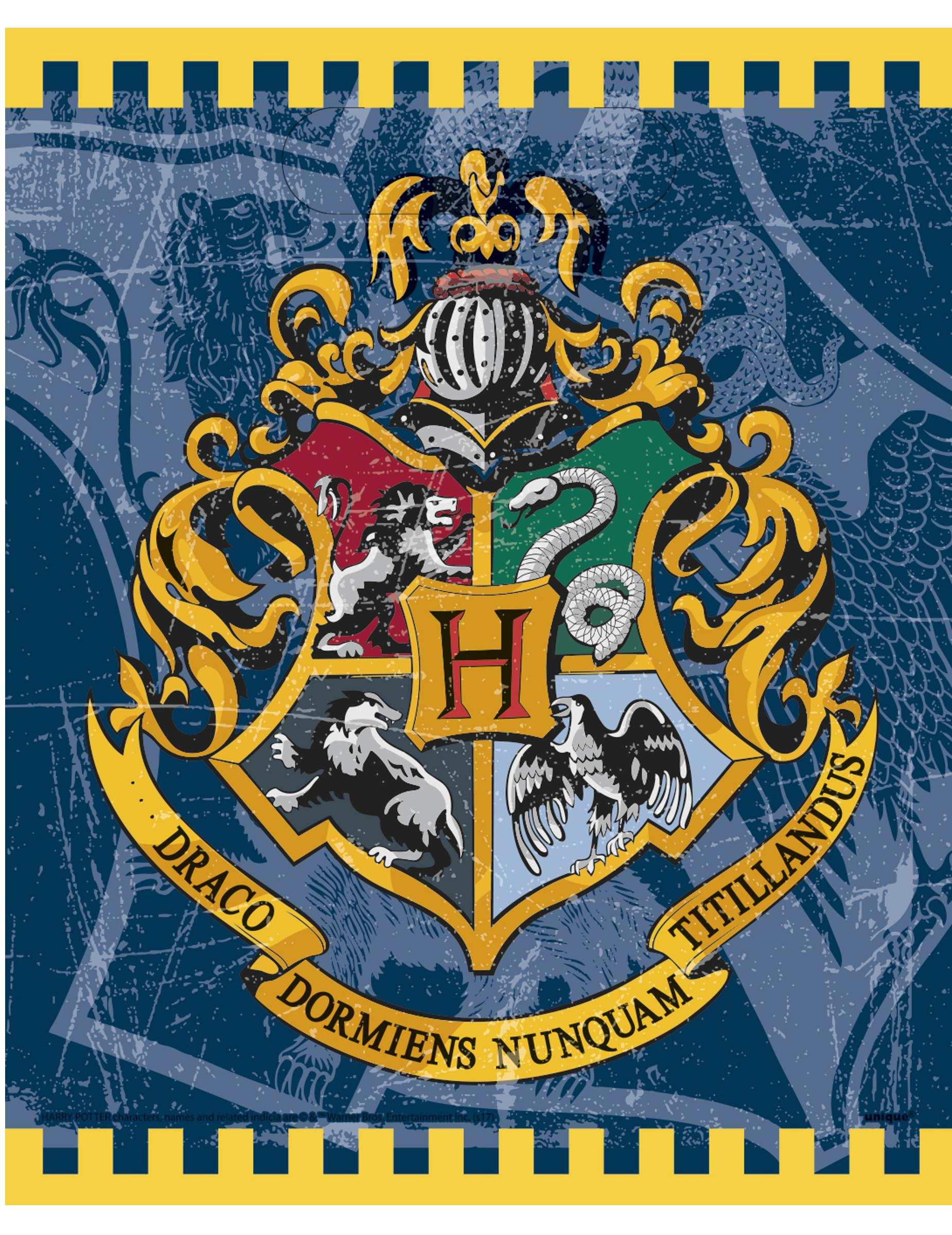 Potter Harry De Fête 8 Sacs EHW29DYeI