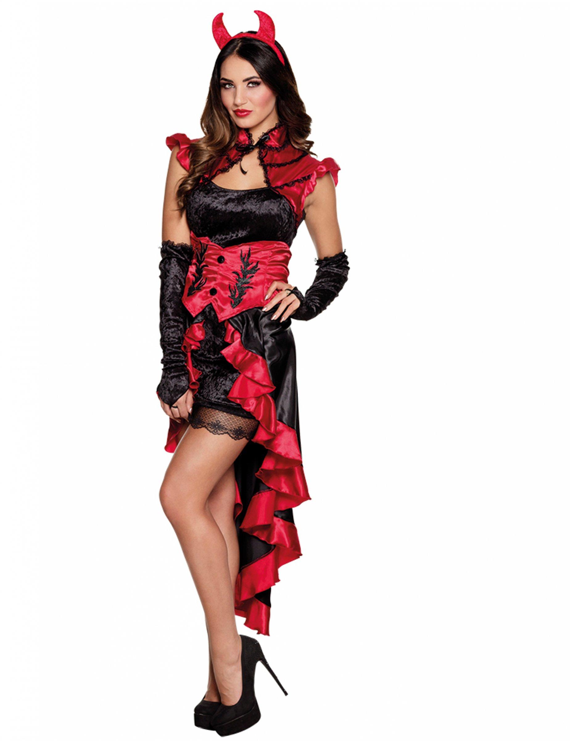 d guisement d mon gothique femme halloween deguise toi. Black Bedroom Furniture Sets. Home Design Ideas