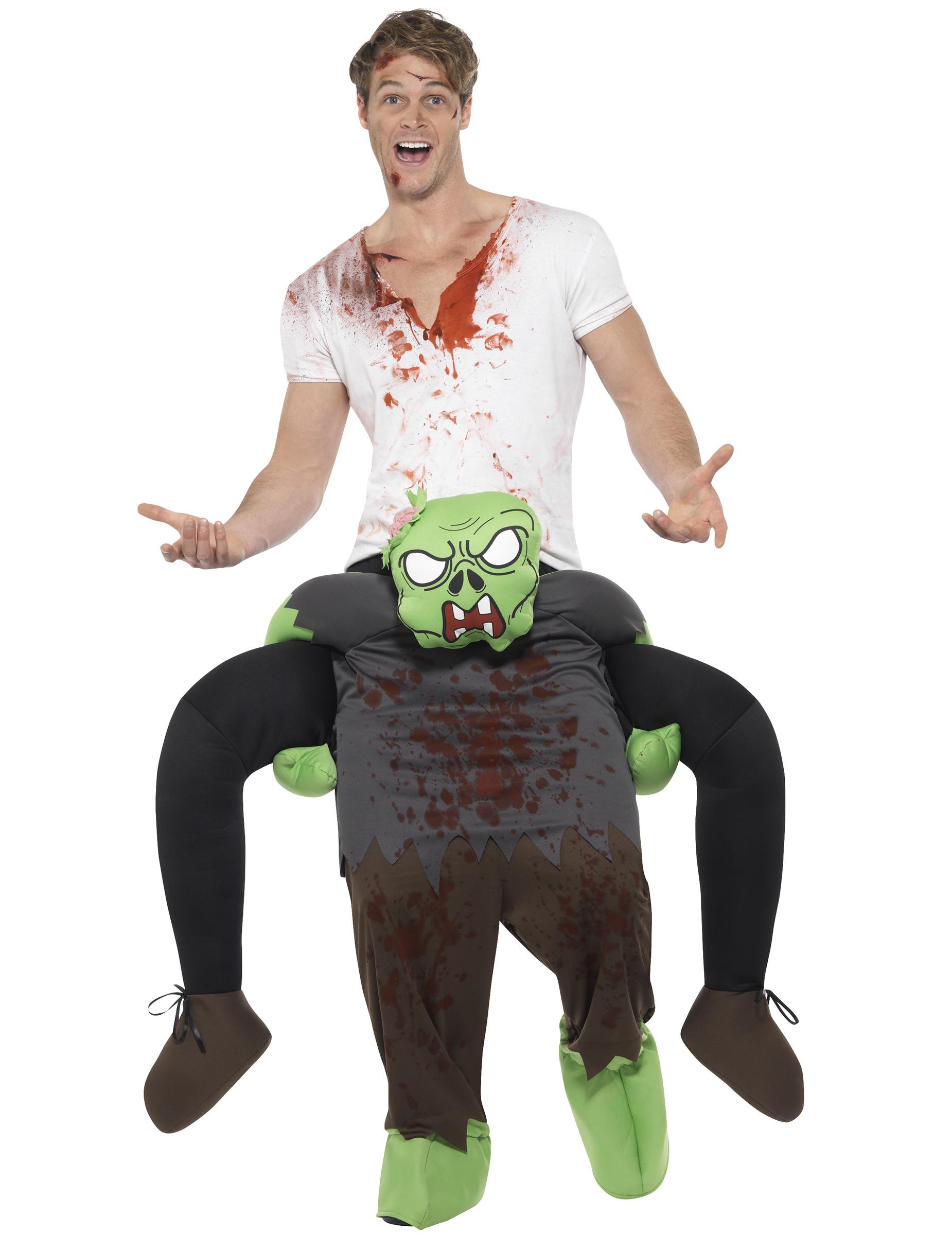 d guisement homme dos de zombie adulte halloween deguise toi achat de d guisements adultes. Black Bedroom Furniture Sets. Home Design Ideas