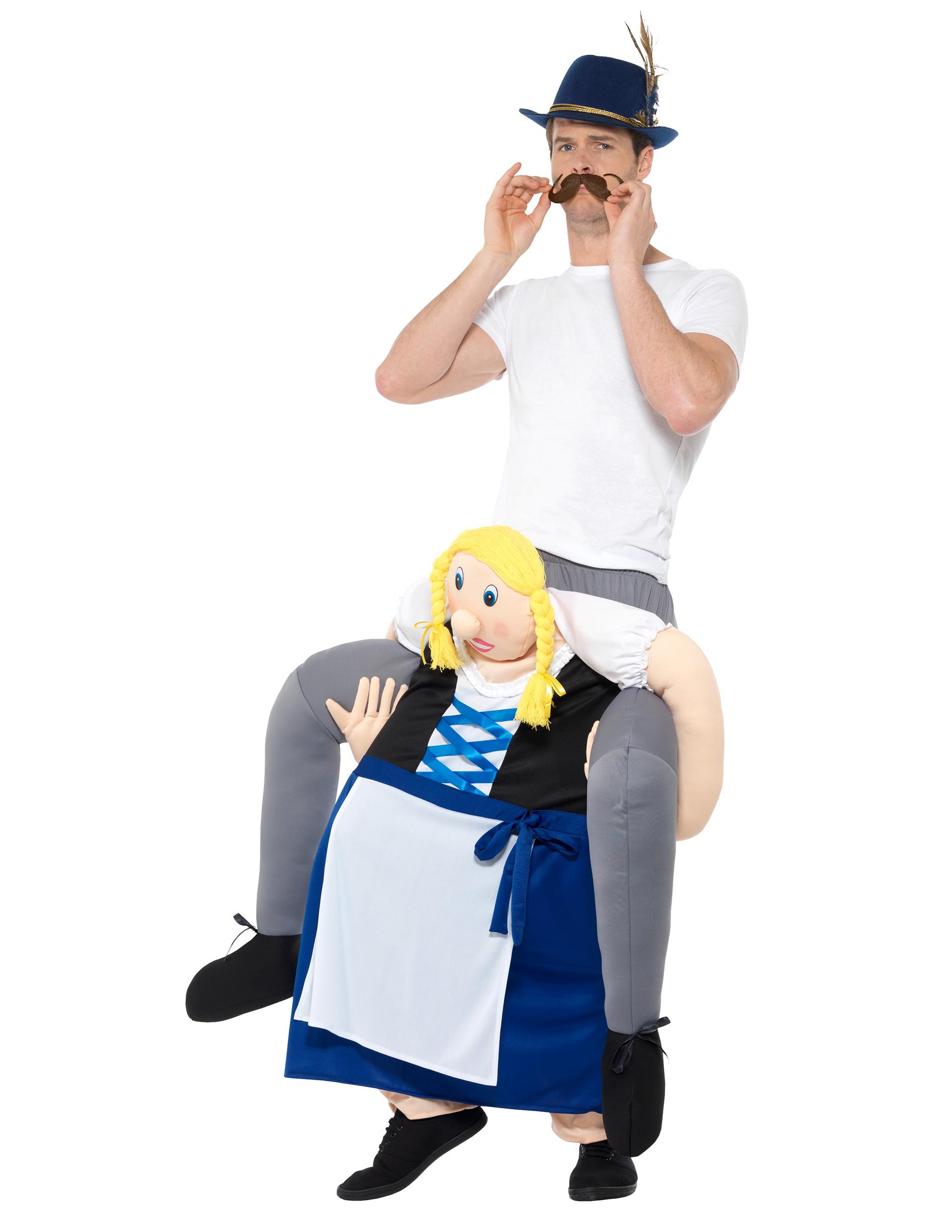 d guisement homme dos de bavaroise bleue adulte f te de la bi re deguise toi achat de. Black Bedroom Furniture Sets. Home Design Ideas