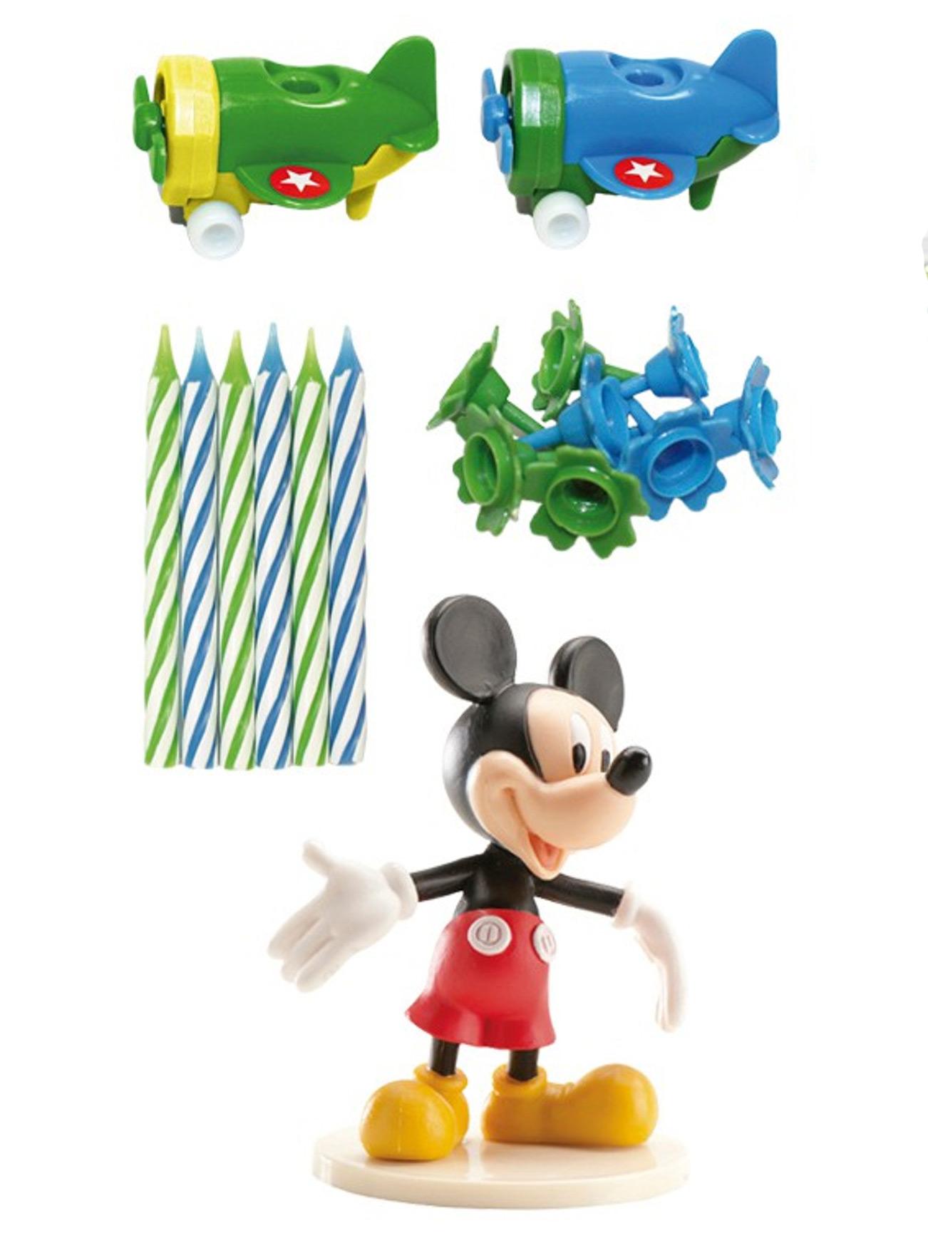 Kit Bougie D Anniversaire Mickey Deguise Toi Achat De Decoration