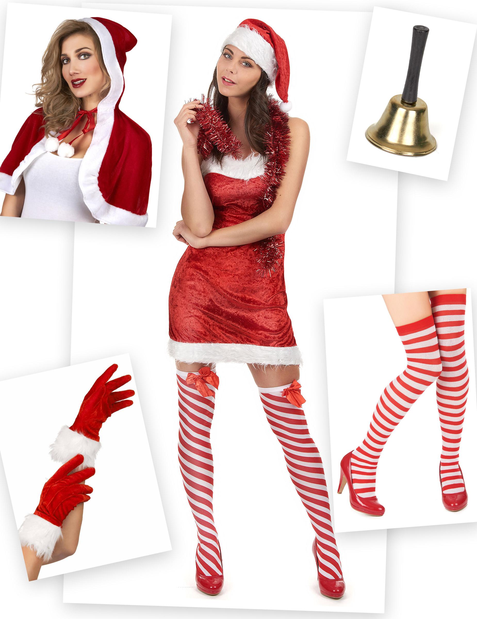 Pyjama Mere Noel Pack déguisement mère Noël Classique : Deguise toi, achat de